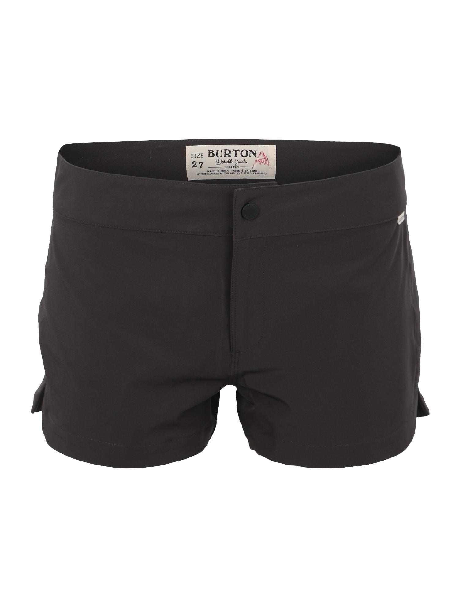 Sportovní kalhoty Shearwater černá BURTON