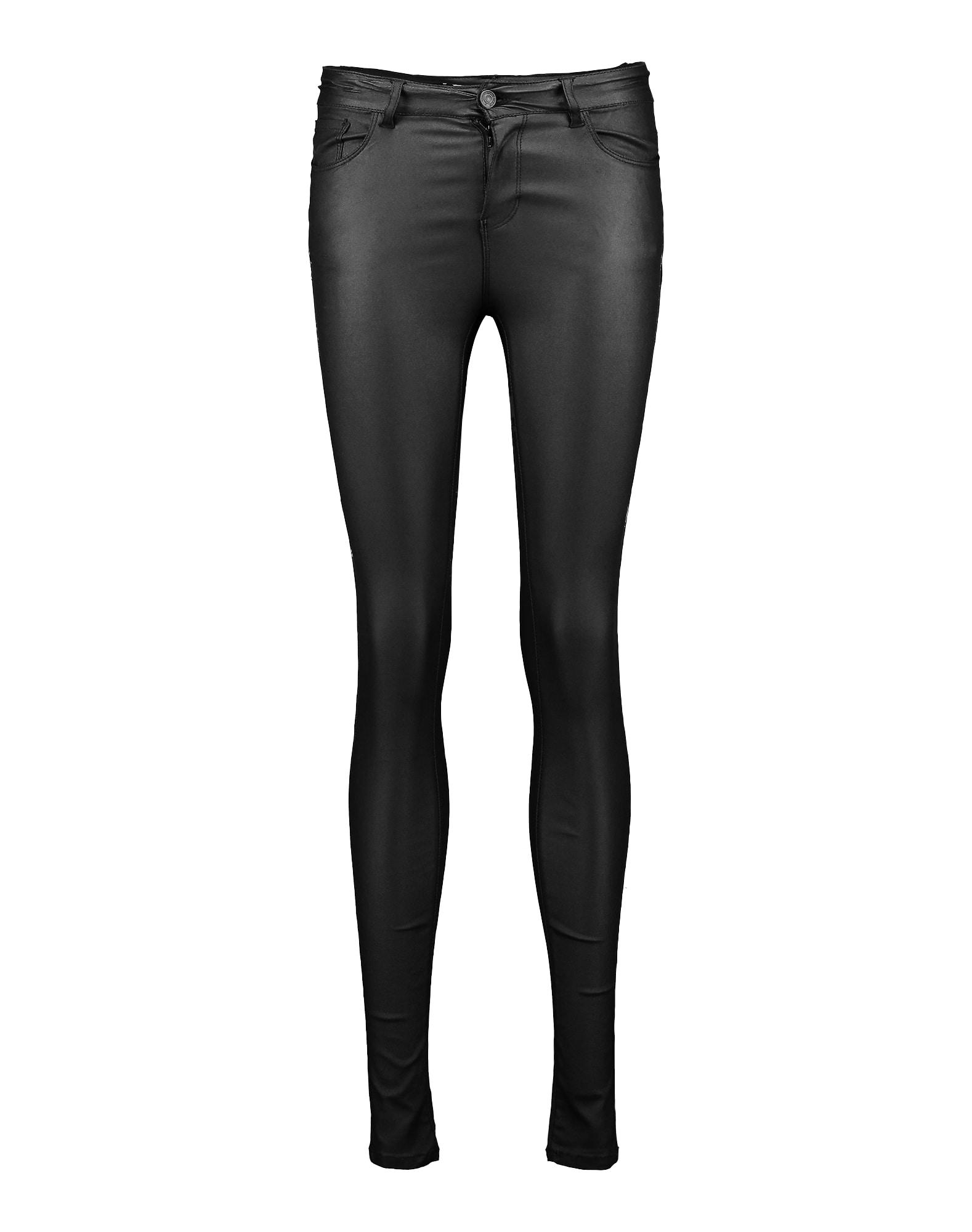 Kalhoty VMSEVEN NW S.SLIM SMOOTH černá VERO MODA