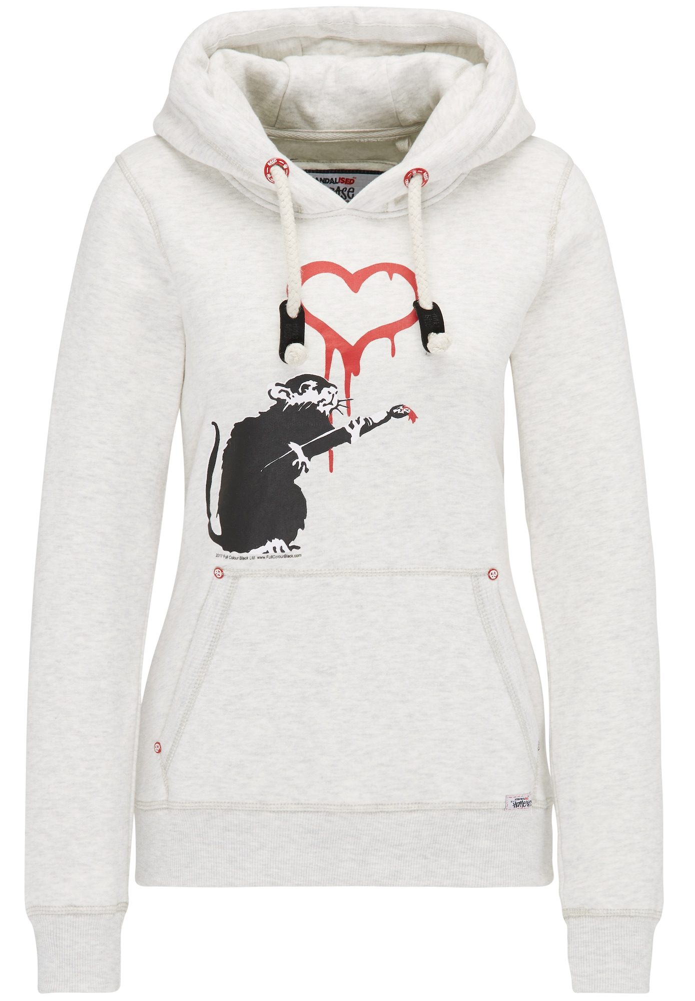 HOMEBASE, Dames Sweatshirt, wolwit