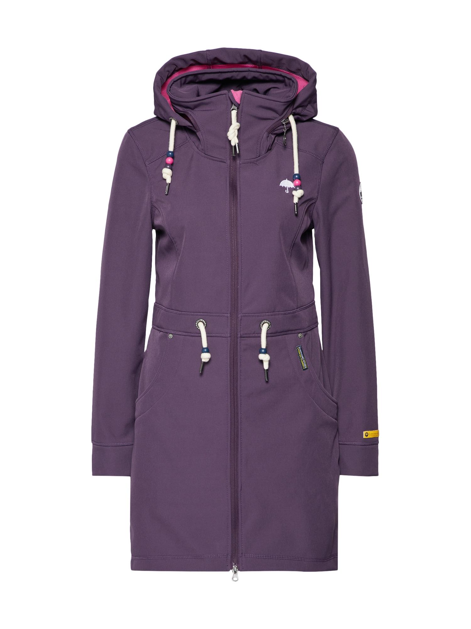 Přechodný kabát lilek Schmuddelwedda