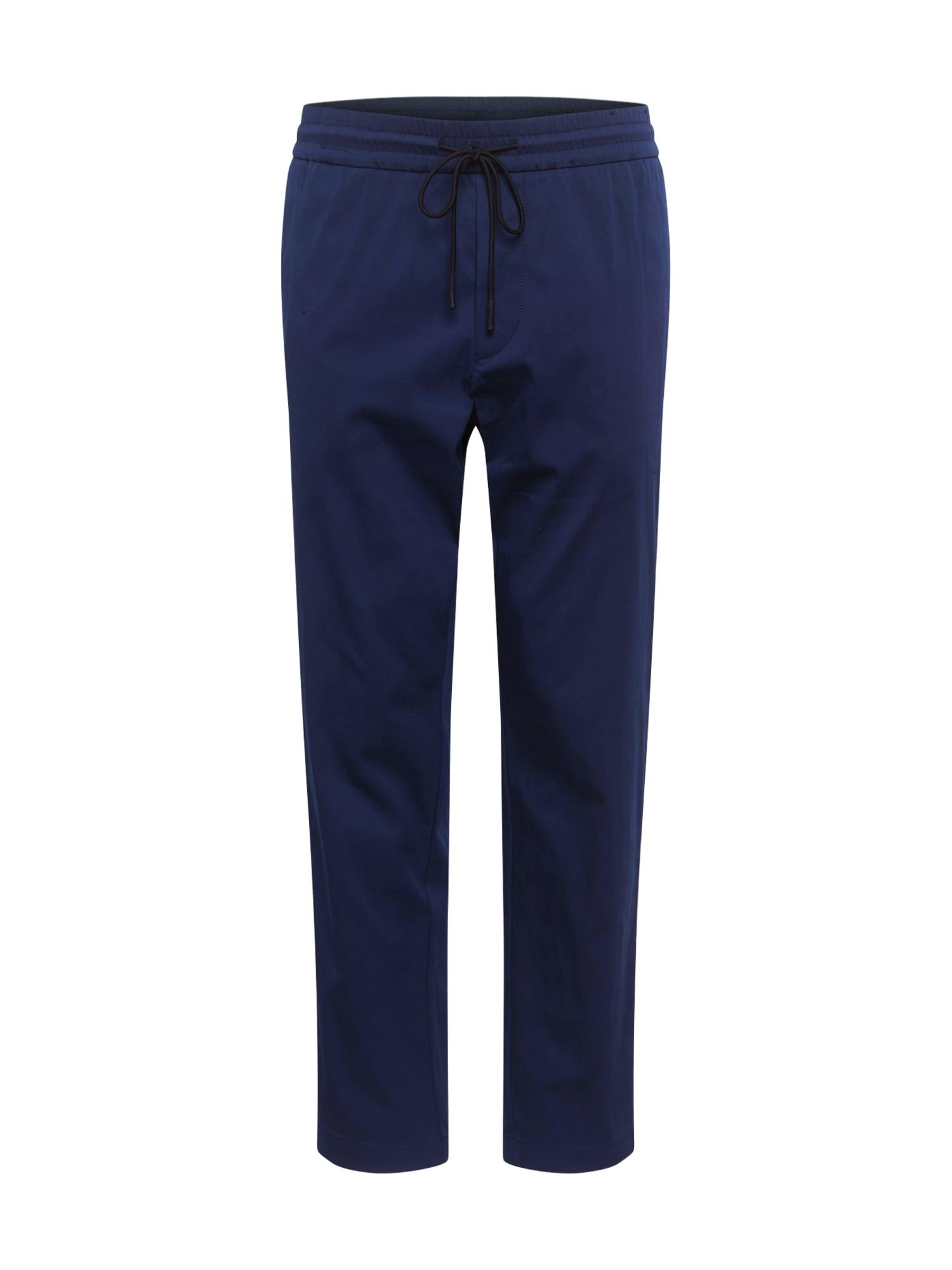 BOSS ATHLEISURE Kalhoty 'Keen2-11'  námořnická modř