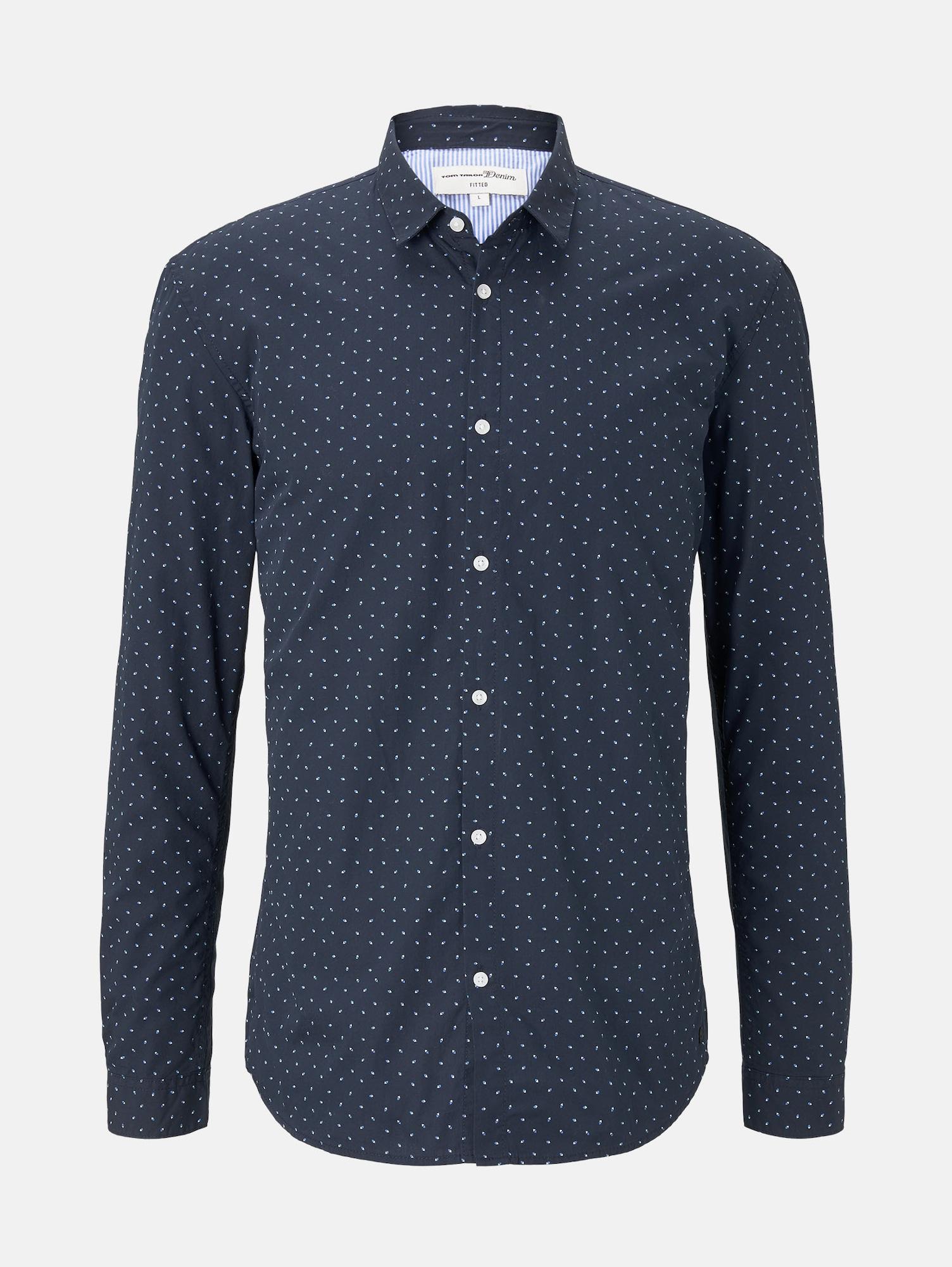 TOM TAILOR DENIM Košile  modrá