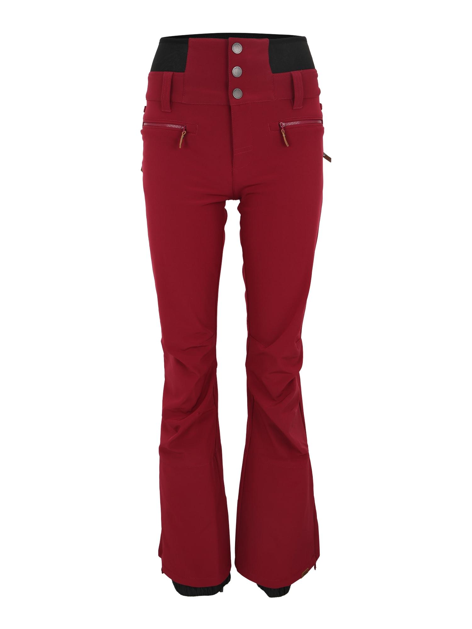 Sportovní kalhoty RISING HIGH červená ROXY