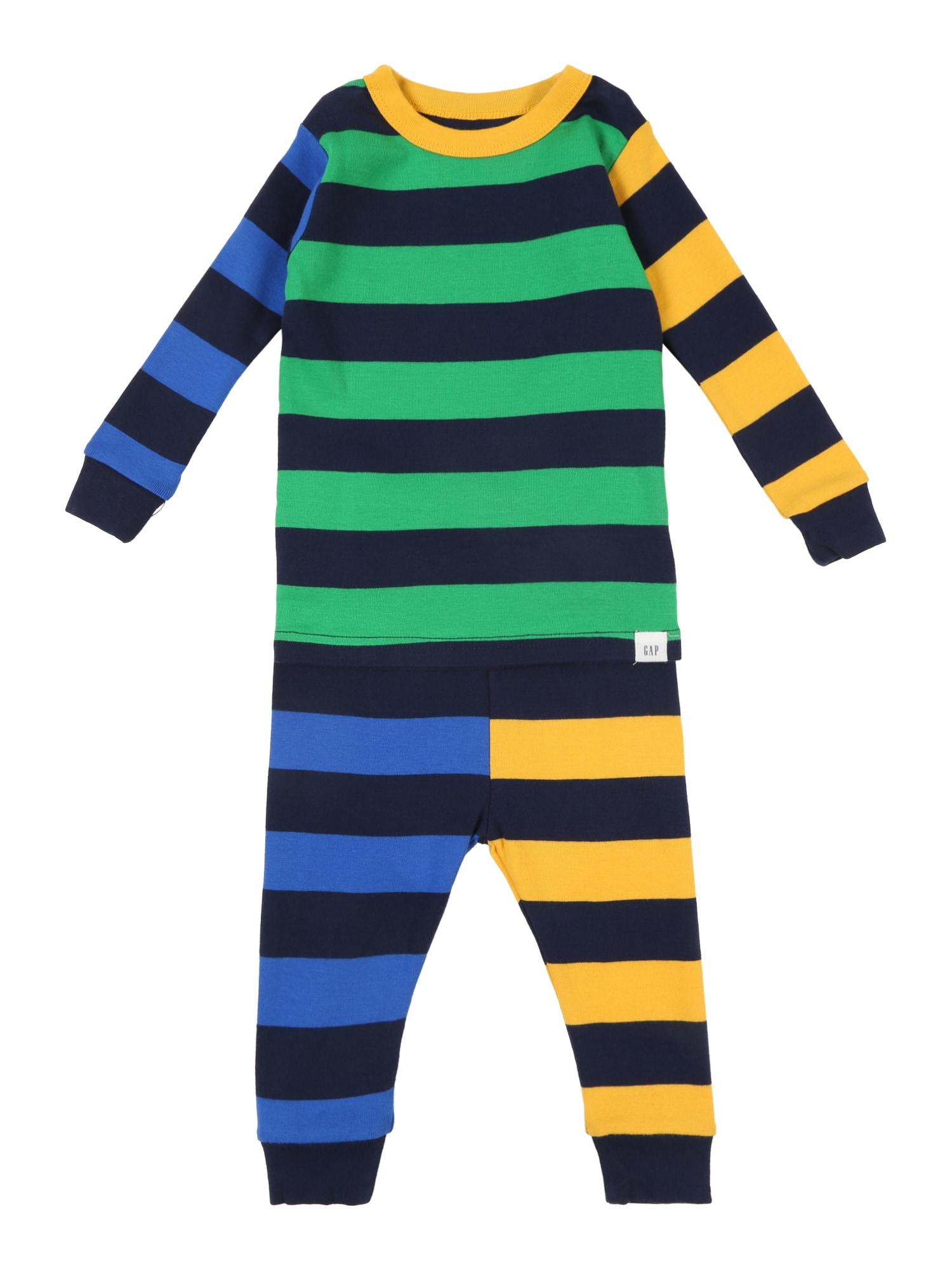 Pyžamo TB MIX STRIPE LJ mix barev GAP