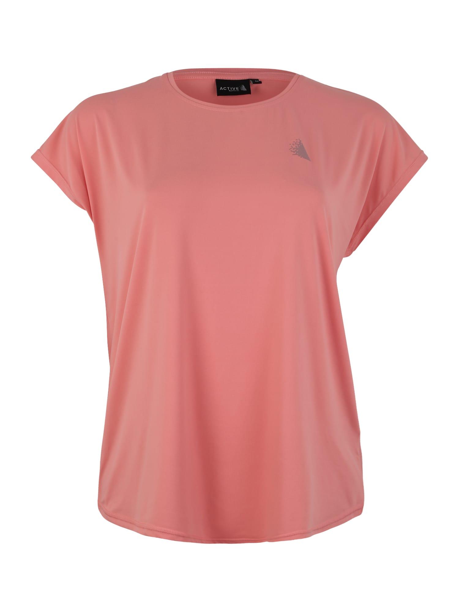 Funkční tričko ABASIC ONE korálová pink Active By Zizzi
