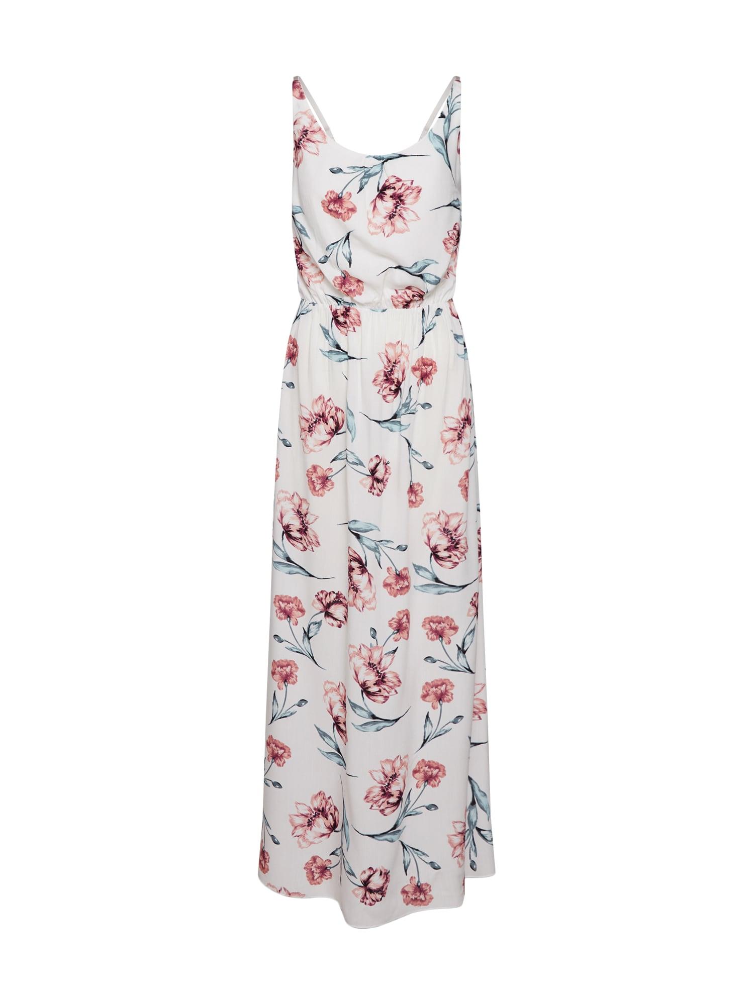 Letní šaty Doris mix barev bílá Hailys