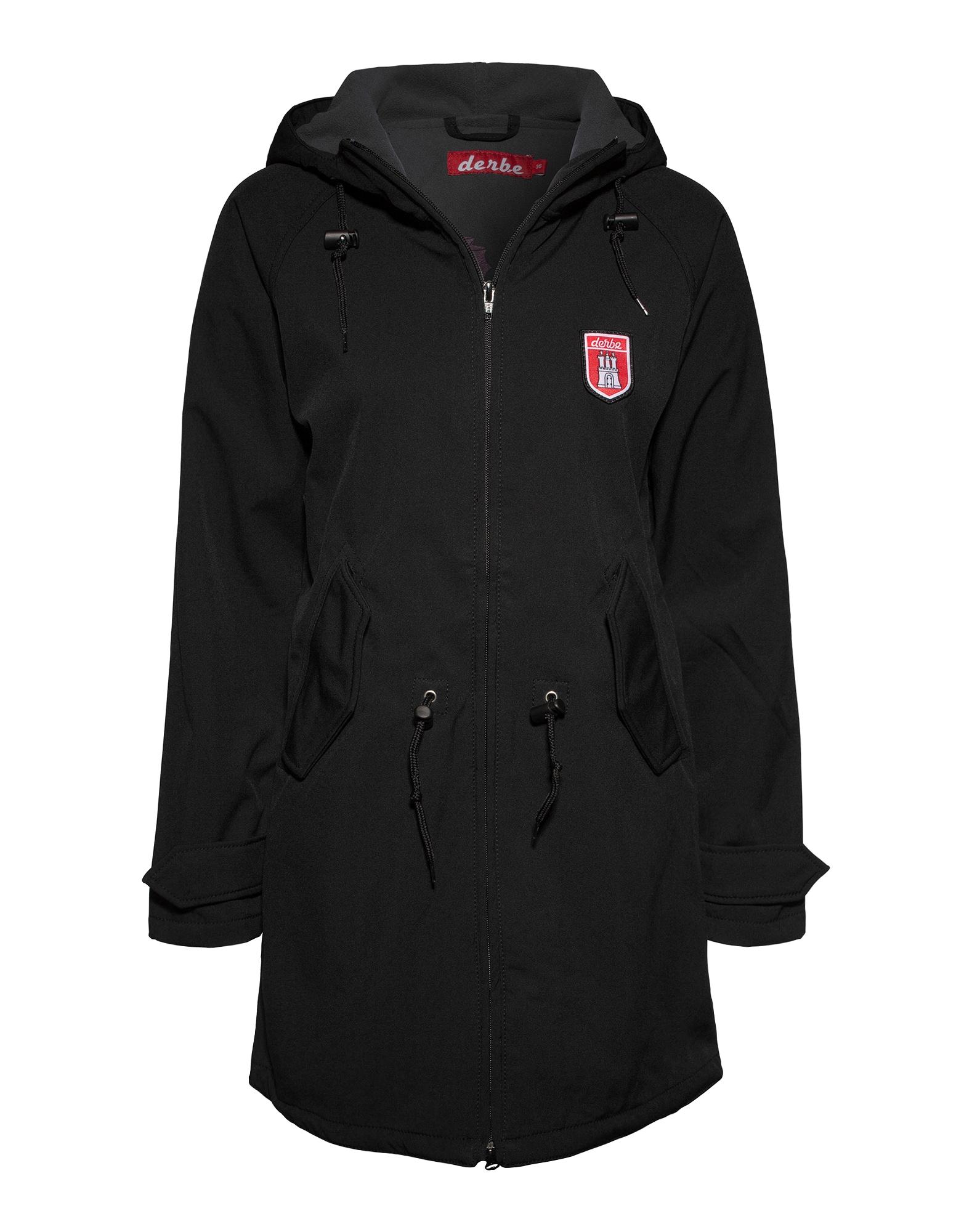 Funkční kabát Island Friese černá Derbe