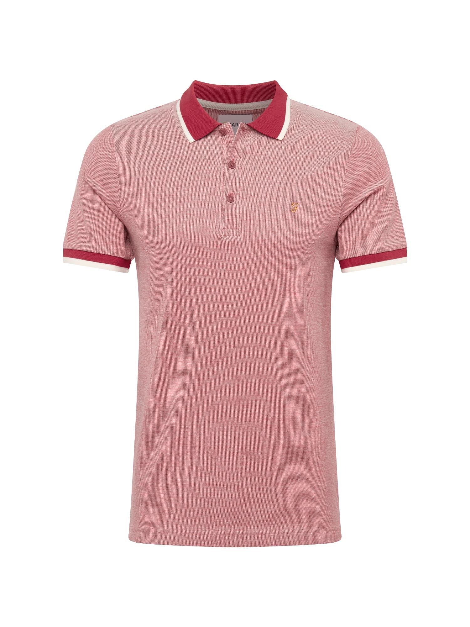 Tričko BASEL PIQUE červená FARAH