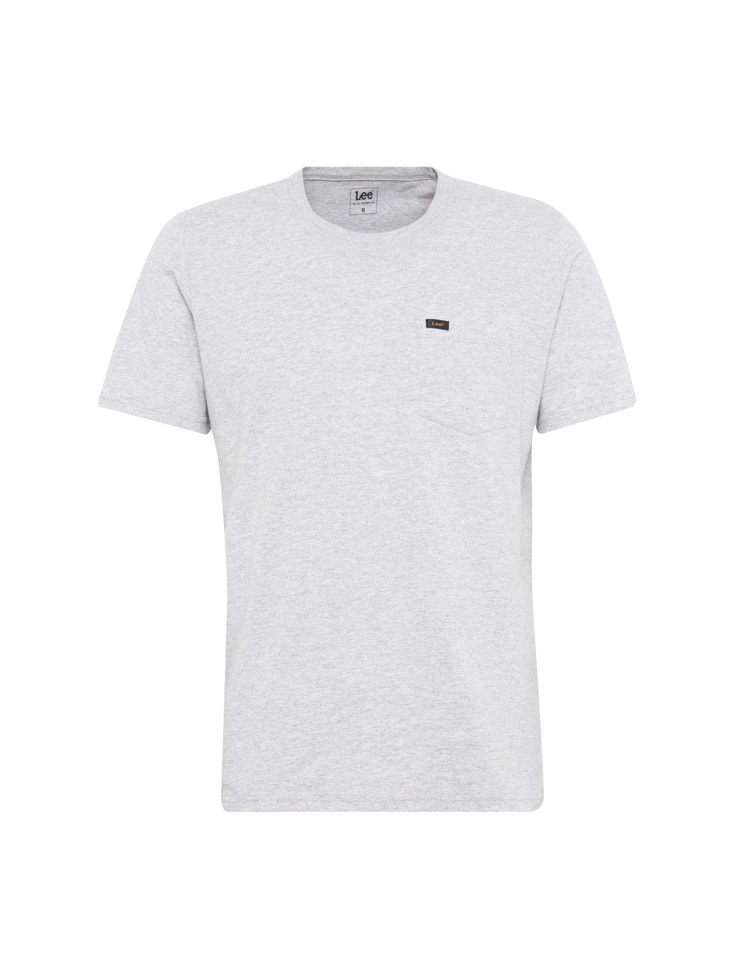 Lee Heren Shirt POCKET grijs