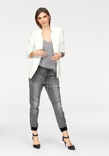 #LAURA #SCOTT #Damen #7/8-Jeans #grey #denim