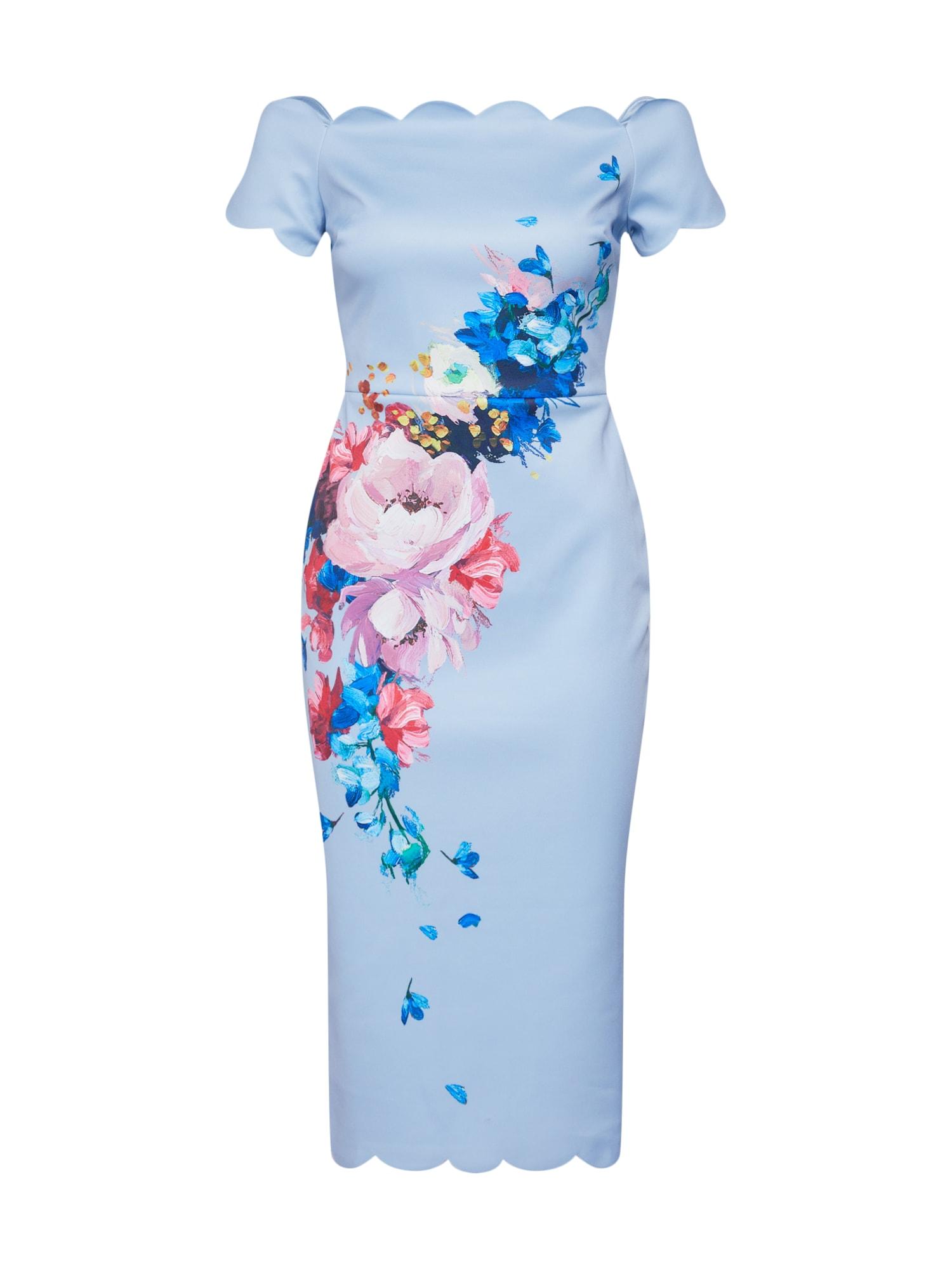 Pouzdrové šaty Hailly modrá Ted Baker
