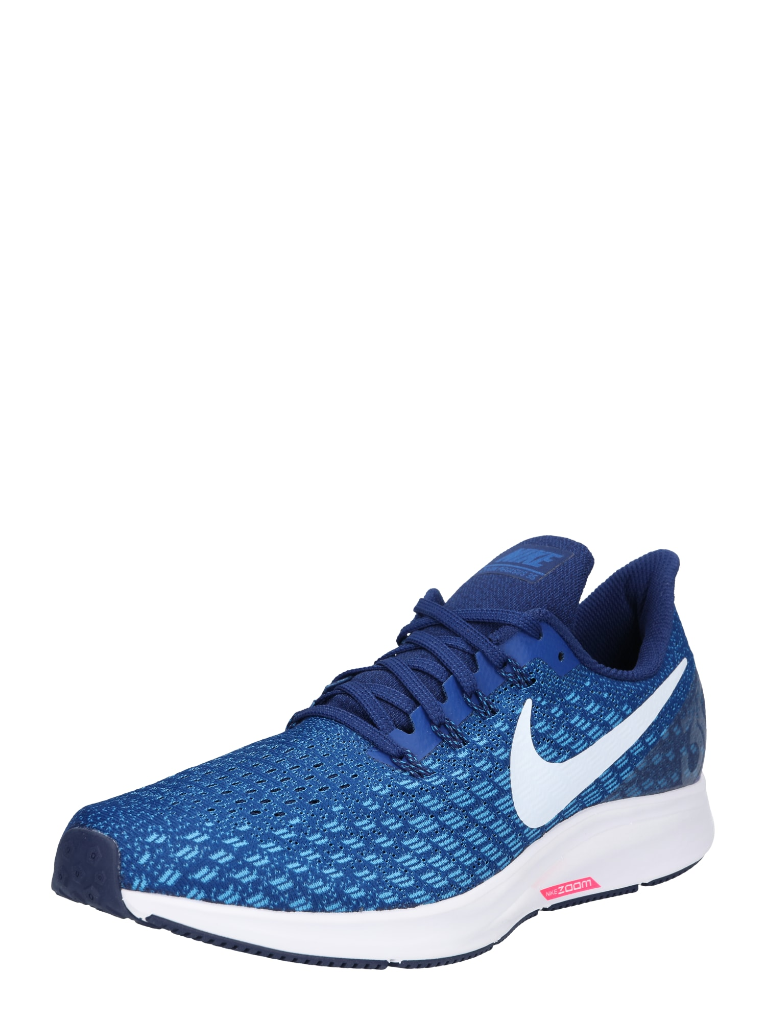 Běžecká obuv Air Zoom Pegasus 35 modrá světlemodrá bílá NIKE
