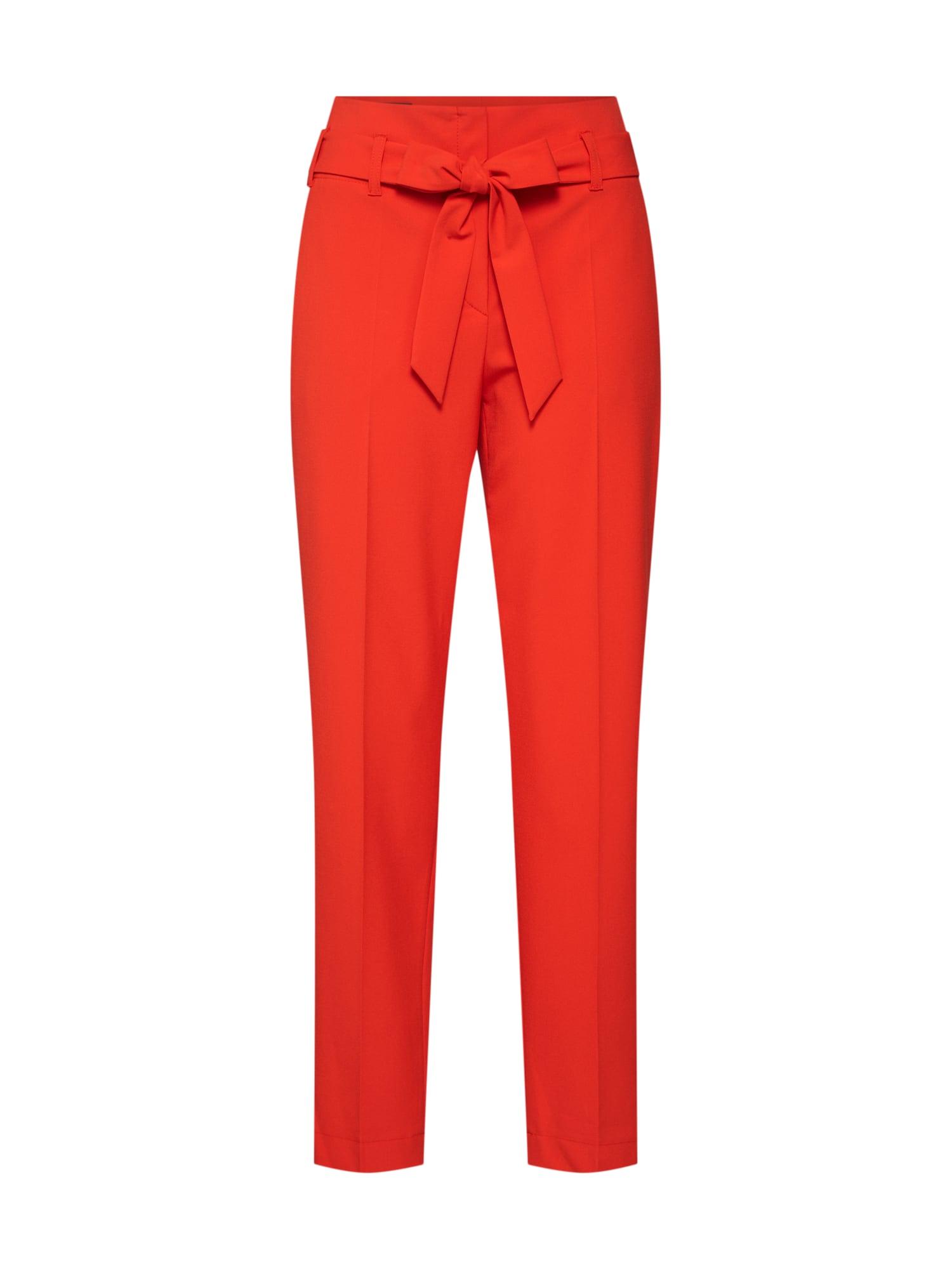 Kalhoty s puky 82018 červená LAUREL
