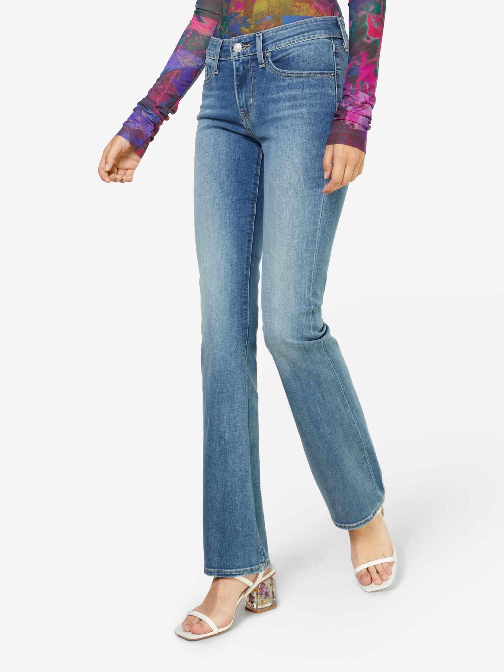 LEVI'S Jeansy '715™ BOOTCUT'  niebieski denim