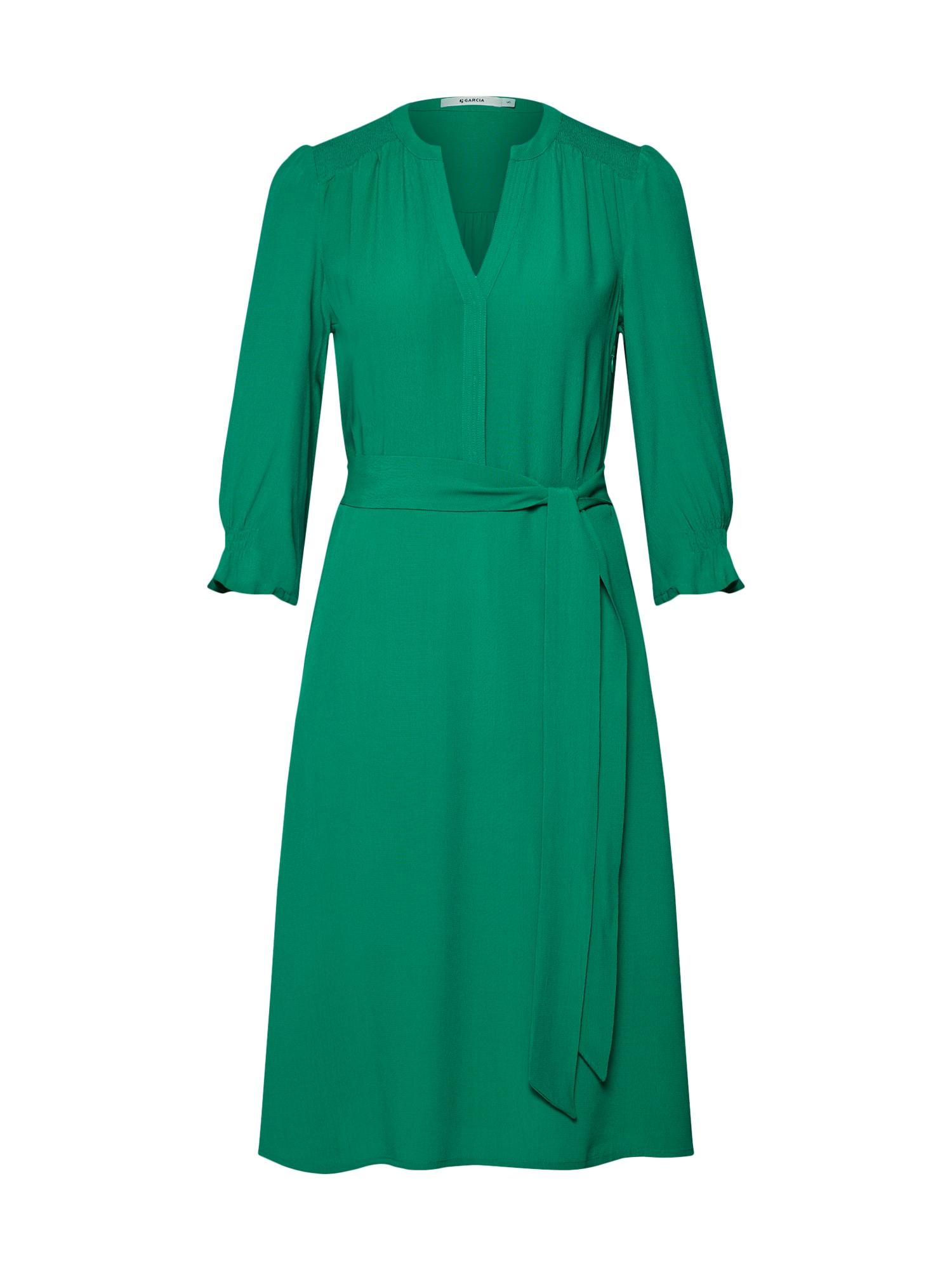 Košilové šaty zelená GARCIA