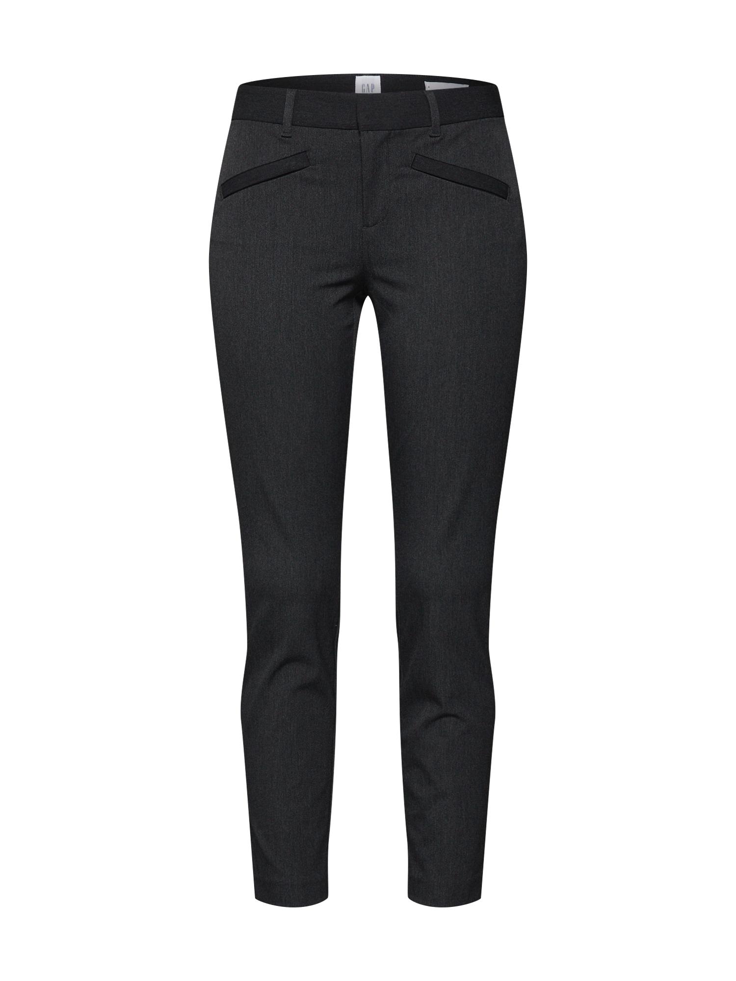 Kalhoty tmavě šedá GAP
