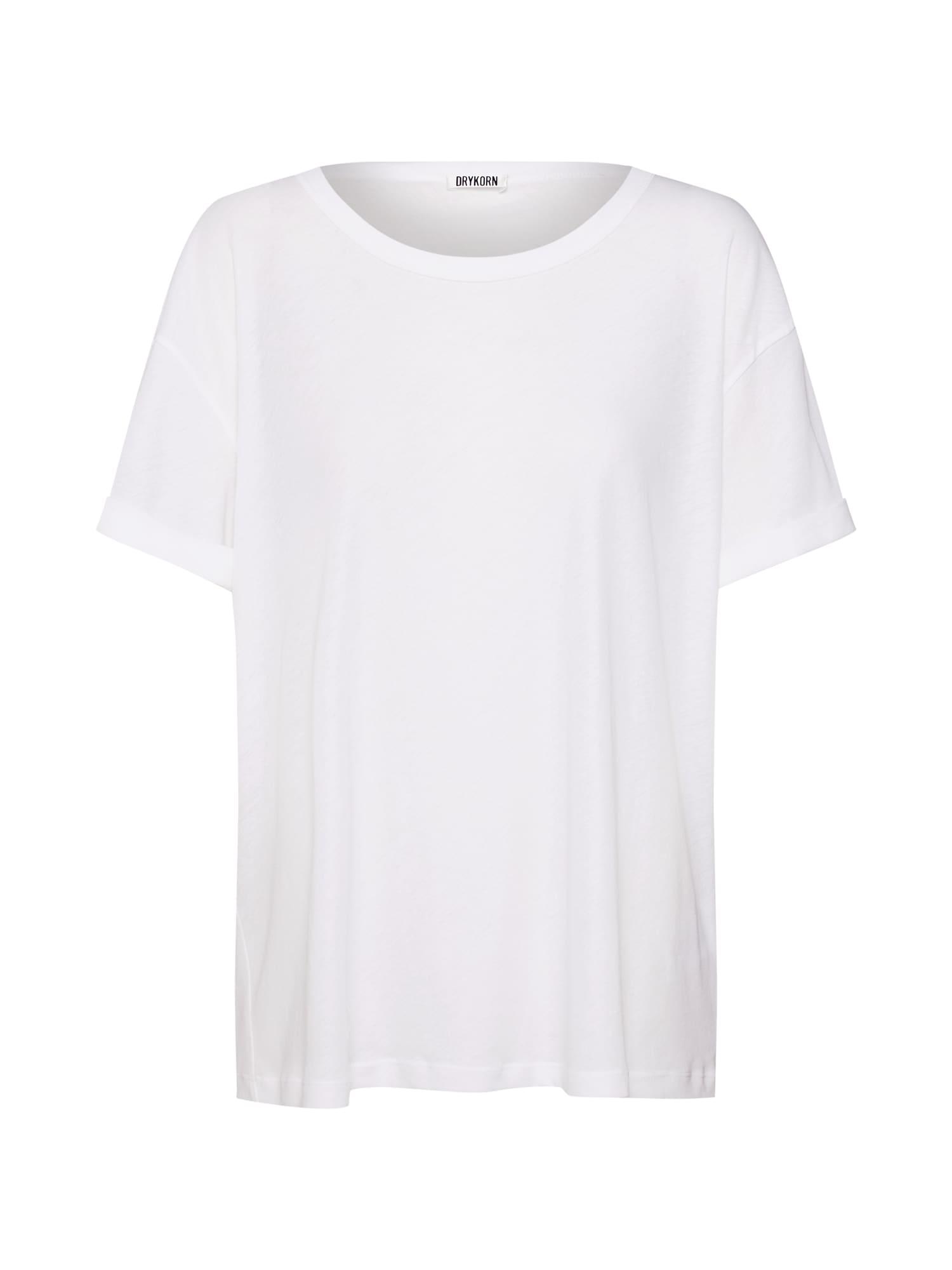 Oversized tričko LARIMA bílá DRYKORN