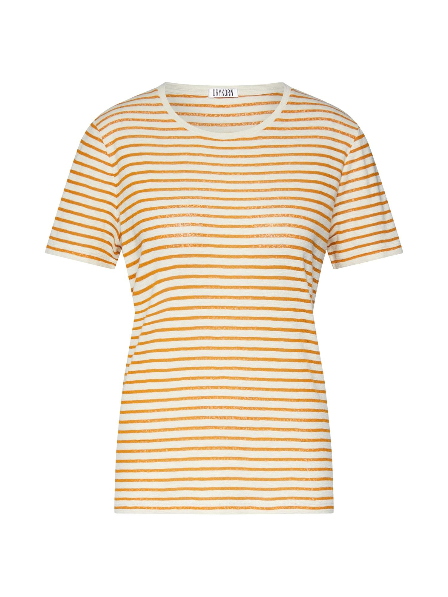 Tričko ANISIA oranžová bílá DRYKORN