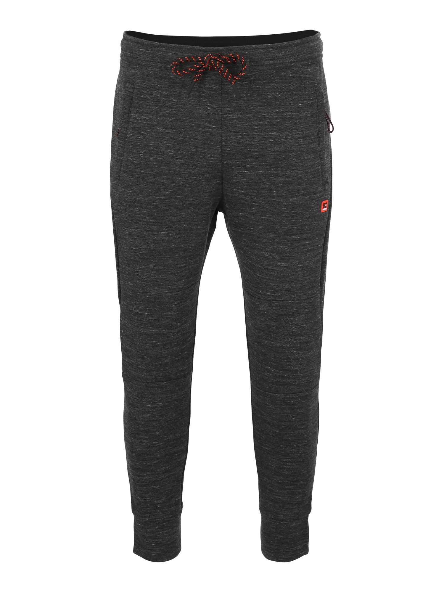 Sportovní kalhoty GYM TECH PIQUE černá Superdry