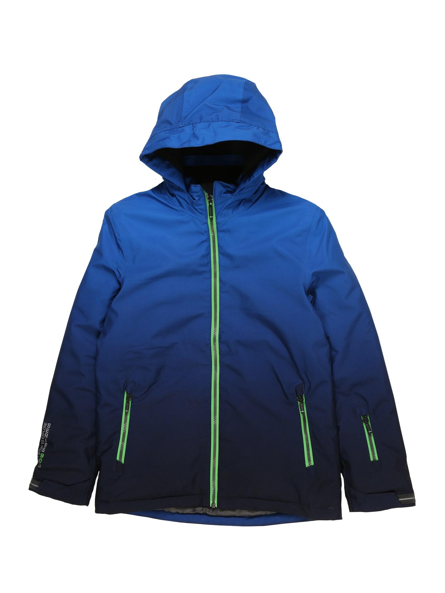 Funkční bunda Pendaro modrá svítivě zelená KILLTEC