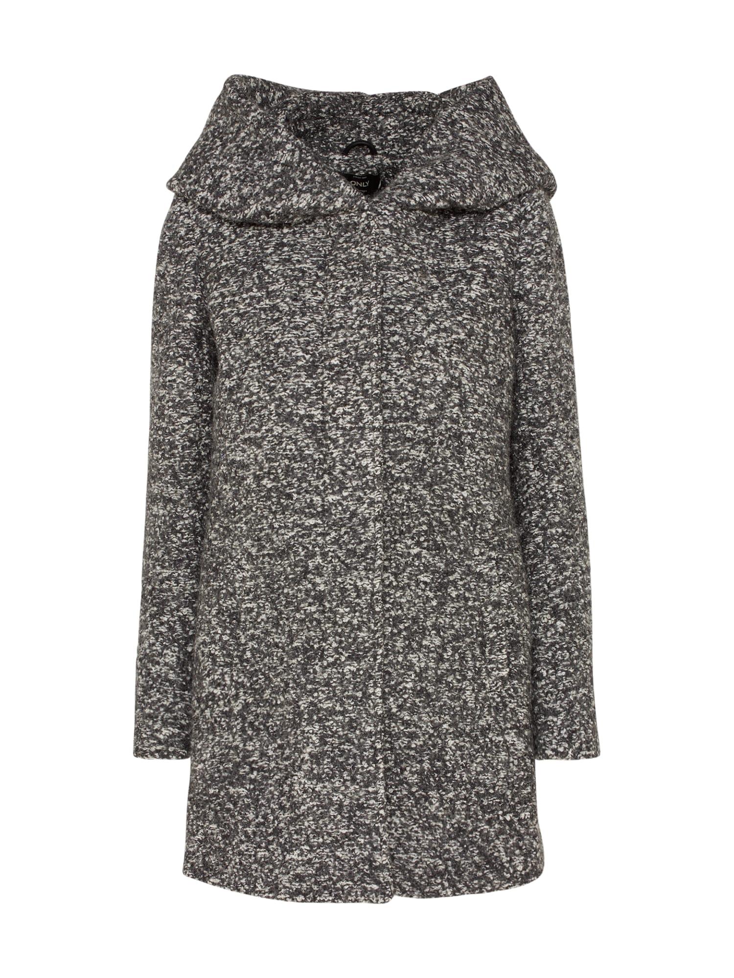 Zimní kabát NOMA tmavě šedá ONLY