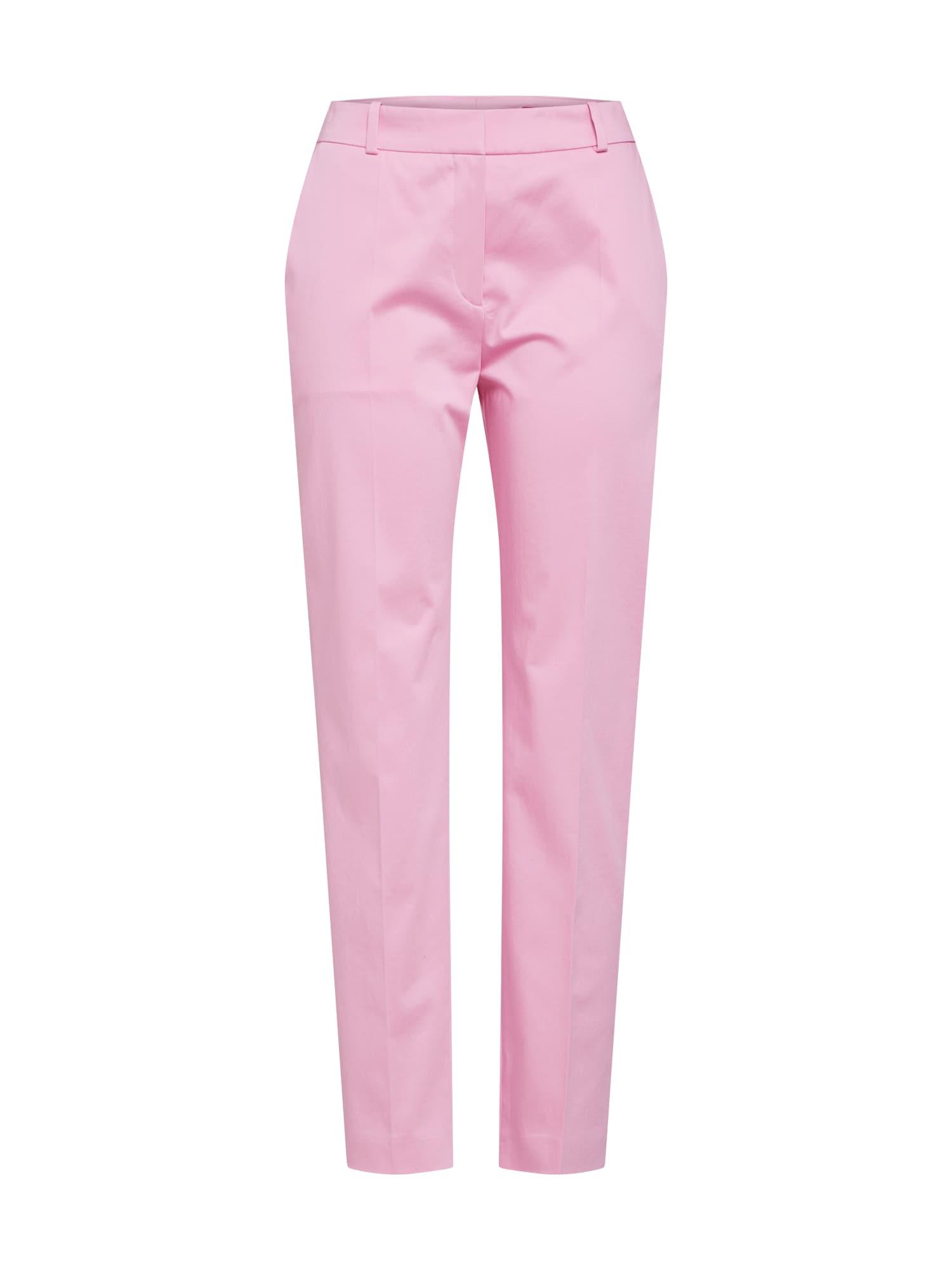Chino kalhoty Herila růžová HUGO