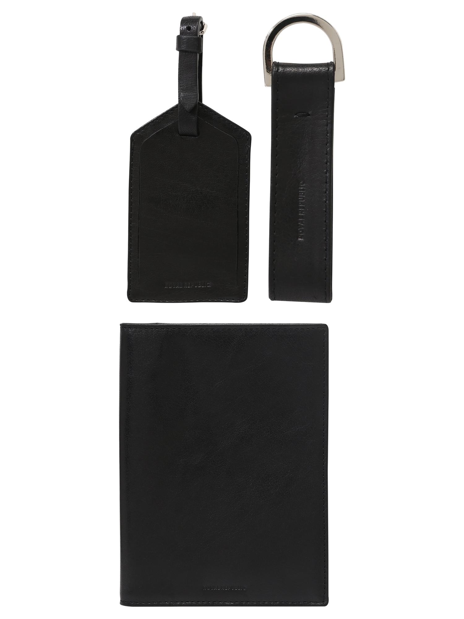 Peněženka Traveller Gift Box černá ROYAL REPUBLIQ