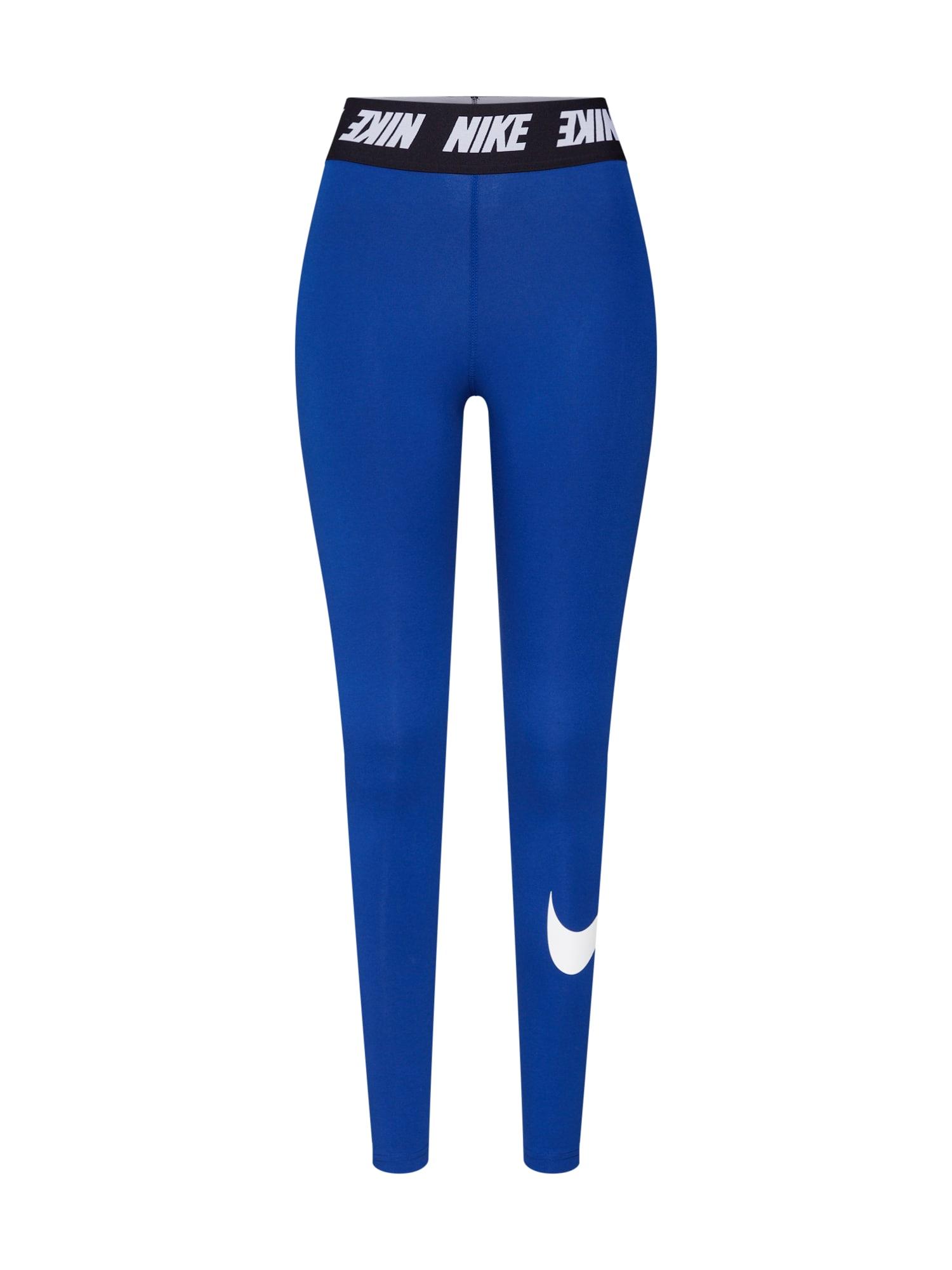 Legíny  námořnická modř  černá  bílá Nike Sportswear