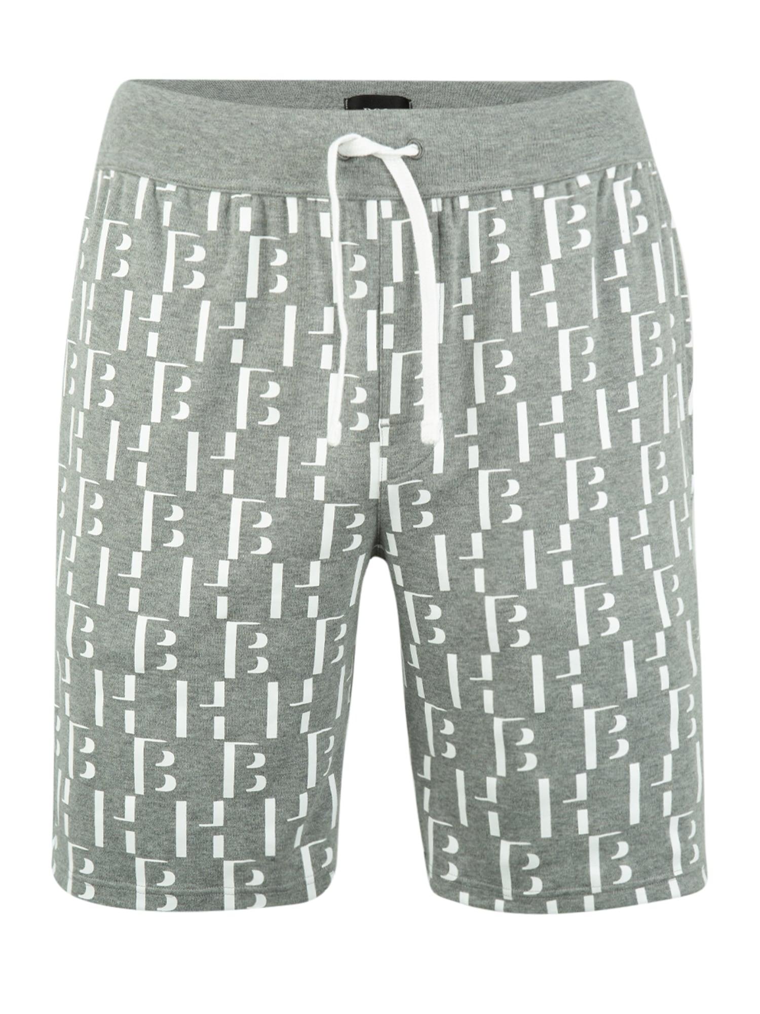 BOSS Pyžamové nohavice 'Relax'  sivá