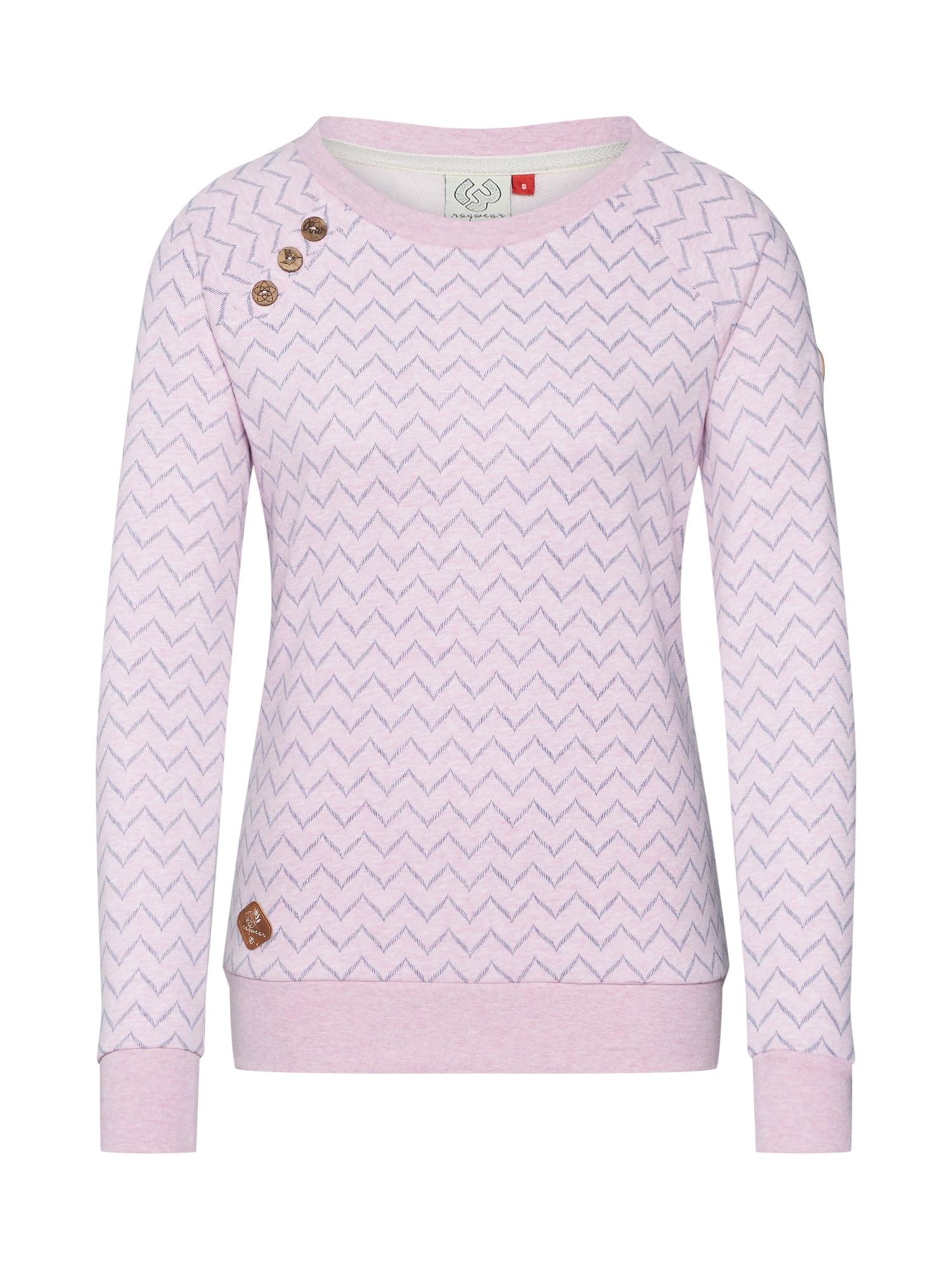 Ragwear Mikina 'DARIA'  mix barev / pink