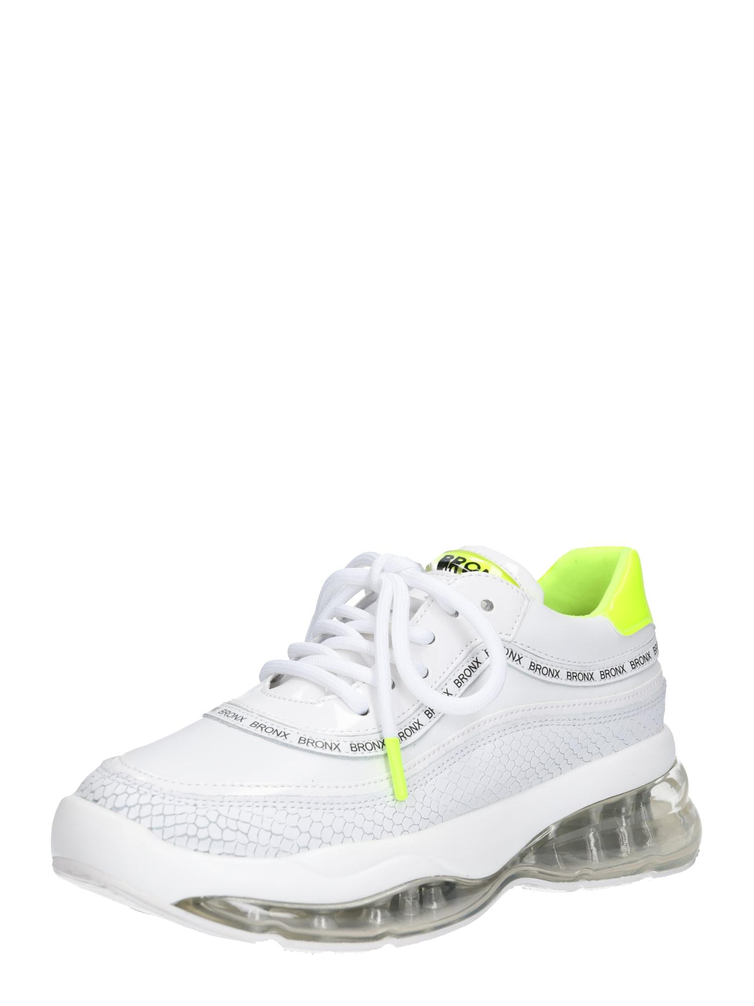 Tenisky Bubbly svítivě žlutá bílá BRONX