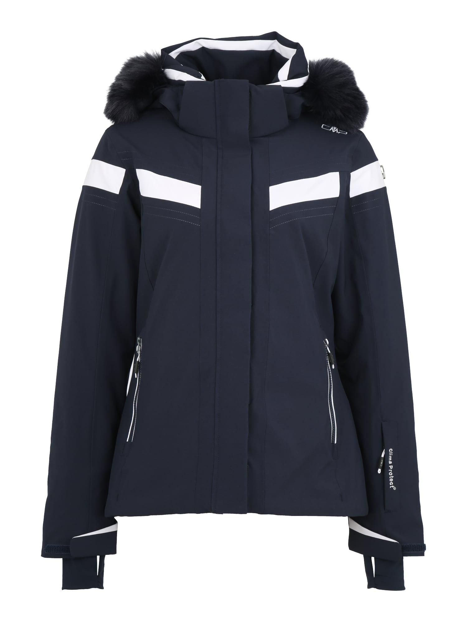 Outdoorová bunda marine modrá bílá CMP