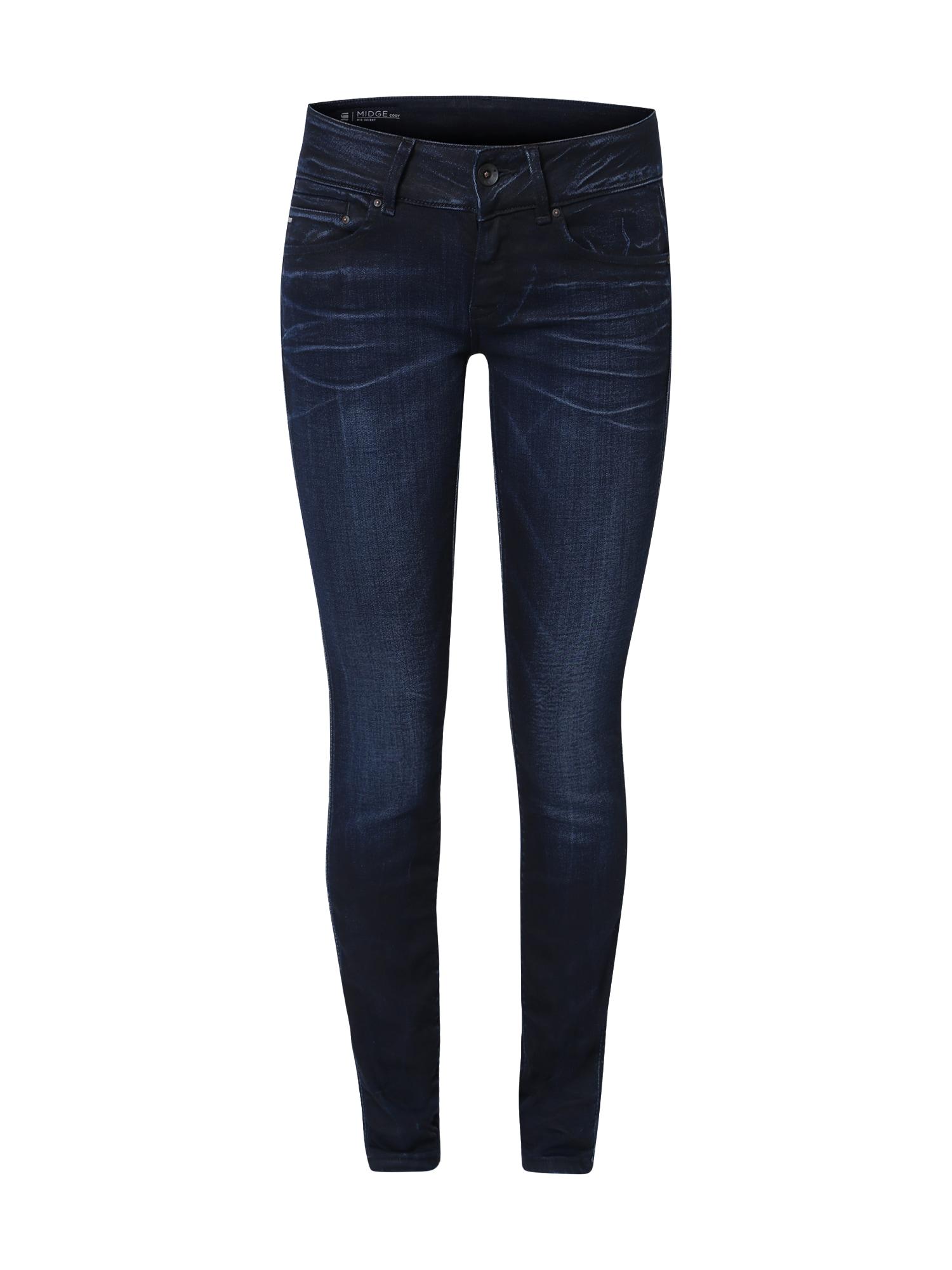 G-STAR RAW Dames Jeans Midge Cody blauw denim