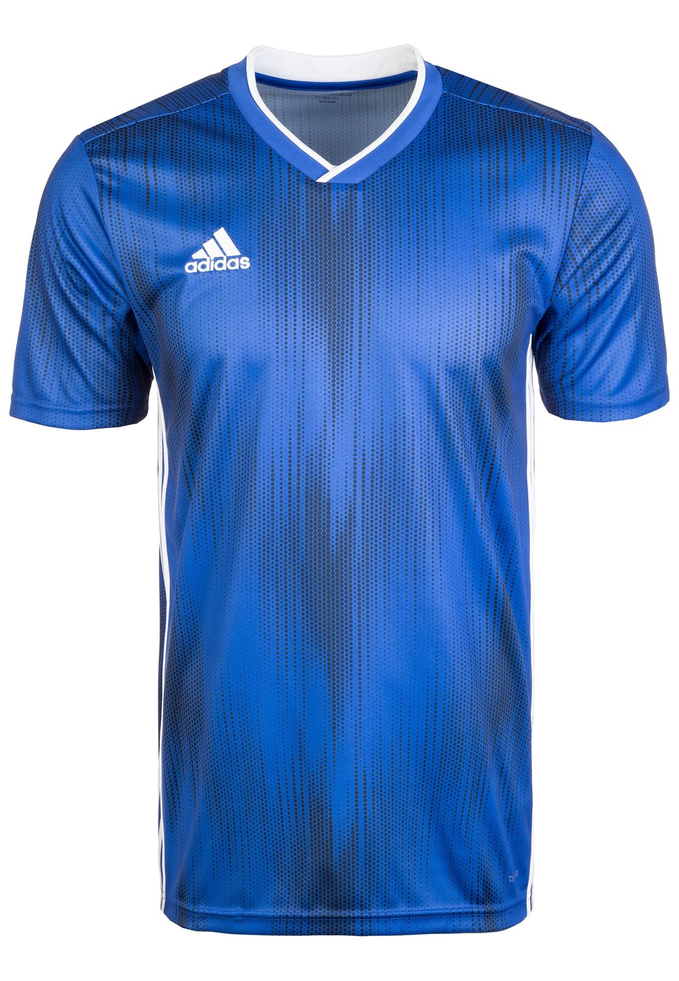 Funktionsshirt 'Tiro 19' | Sportbekleidung > Sportshirts > Funktionsshirts | Blau - Weiß | ADIDAS PERFORMANCE