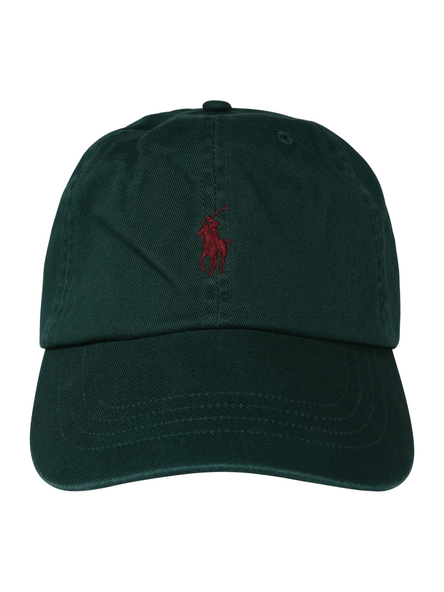 Kšiltovka zelená červená POLO RALPH LAUREN