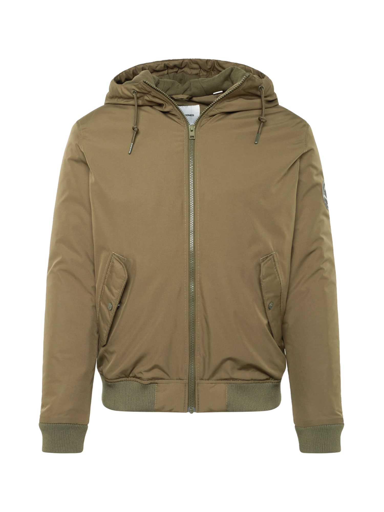 Zimní bunda DOPE tmavě zelená JACK & JONES