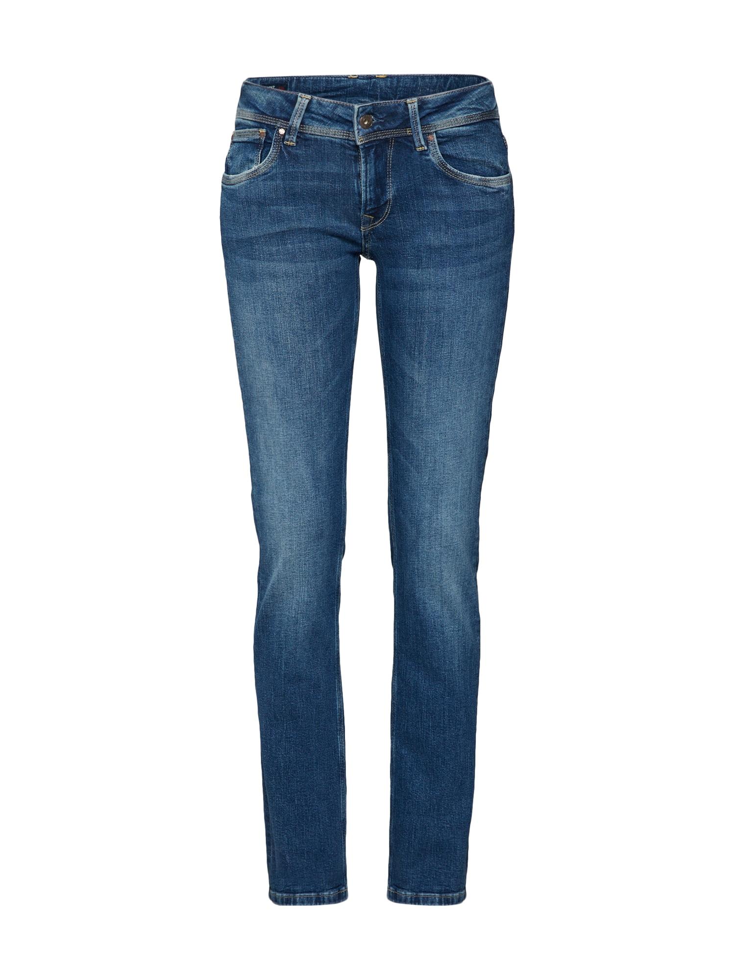 Pepe Jeans Dames Jeans Saturn blauw denim
