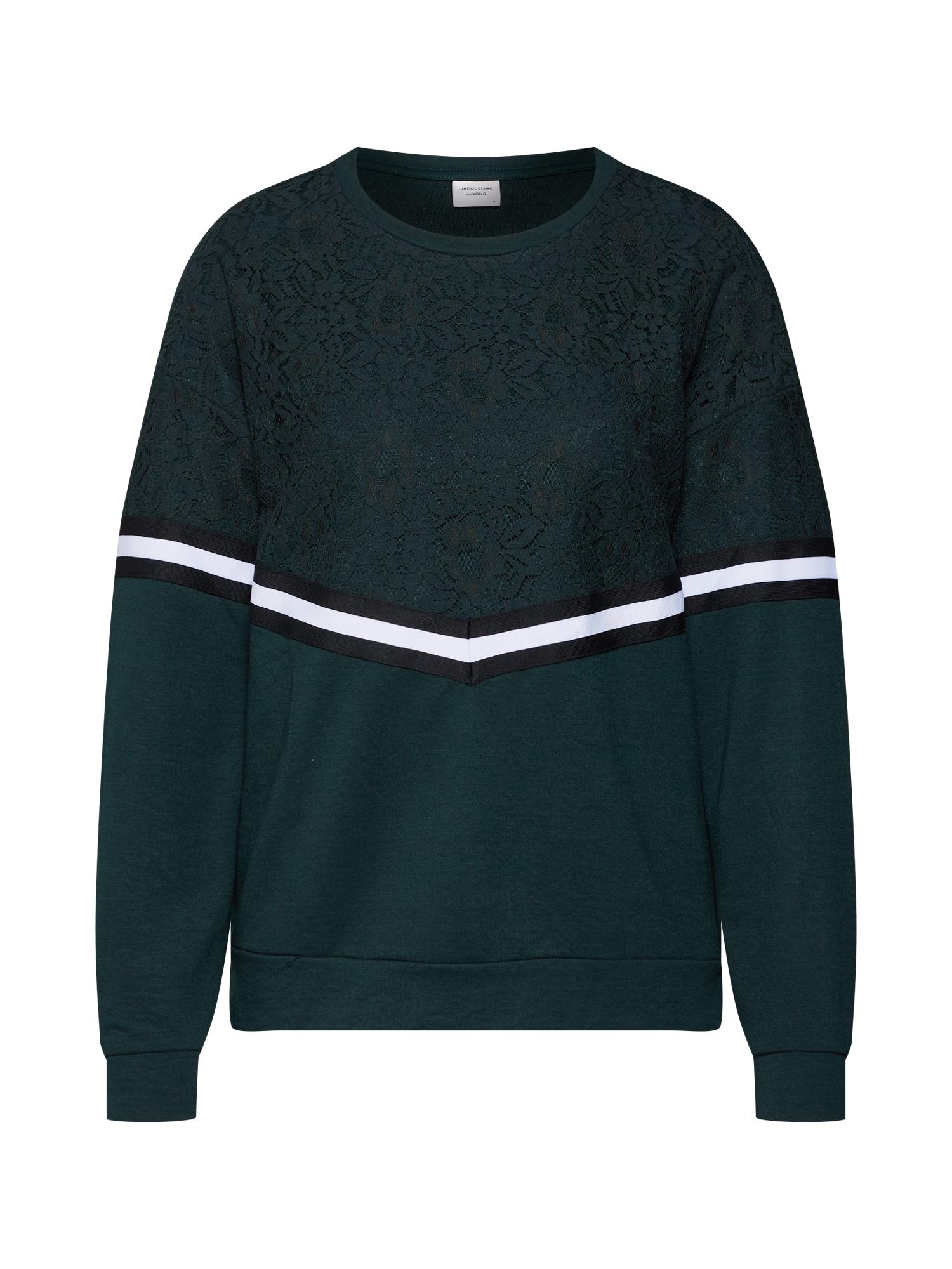 ONLY Kanten Sweatshirt Dames Green