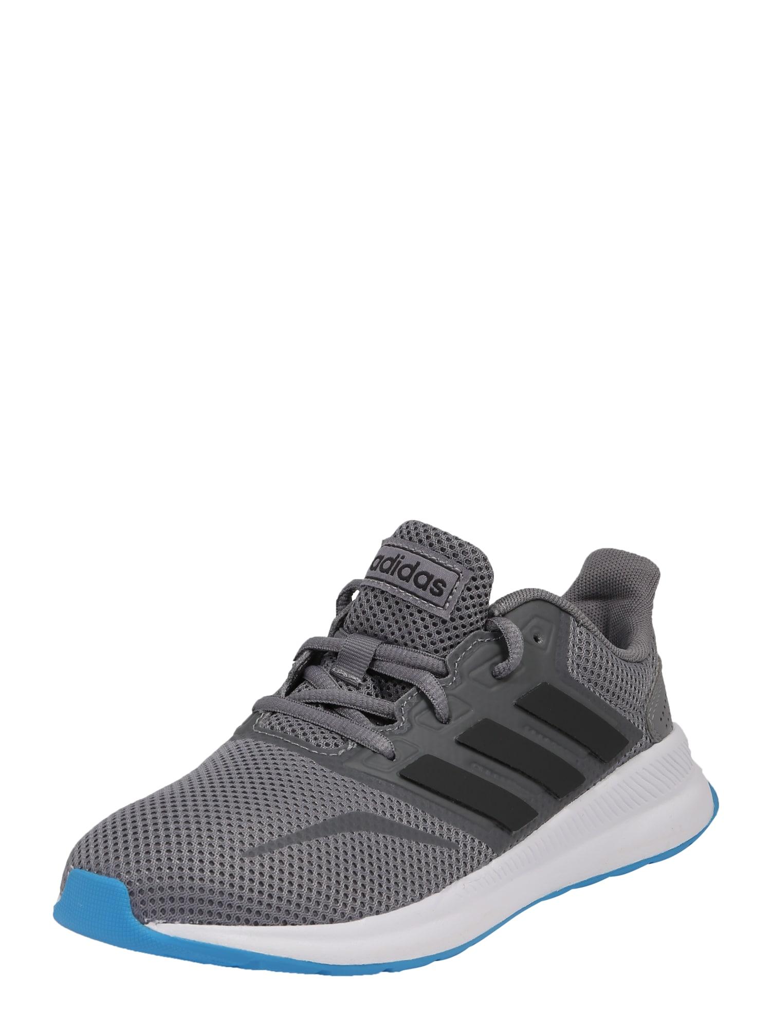 Sportovní boty RUNFALCON K tmavě šedá ADIDAS PERFORMANCE