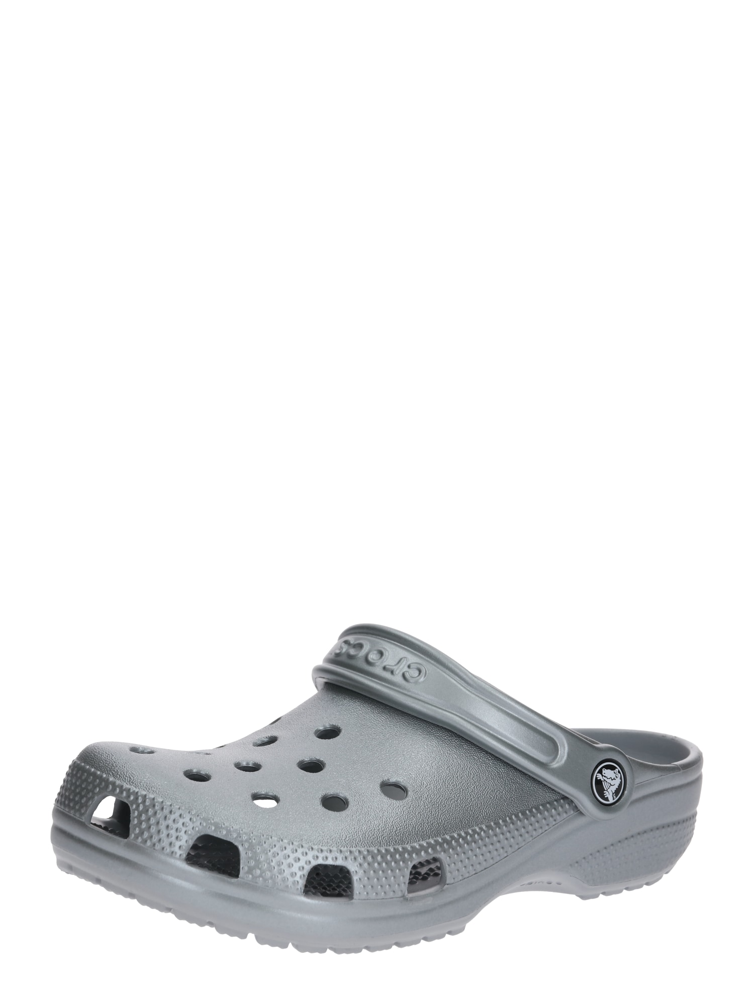 Pantofle stříbrná Crocs