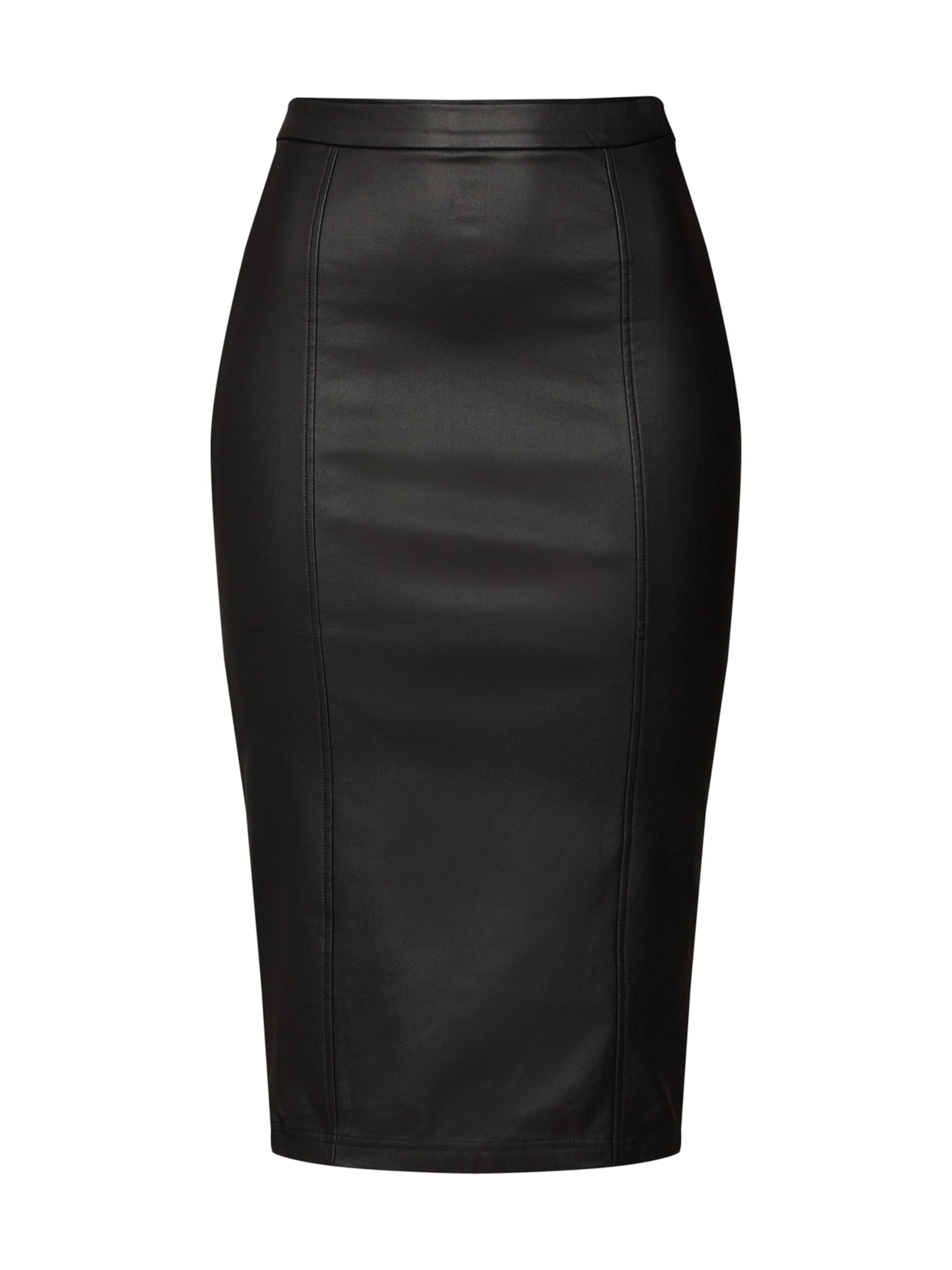 lost ink - Rock ´COATED PENCIL SKIRT´