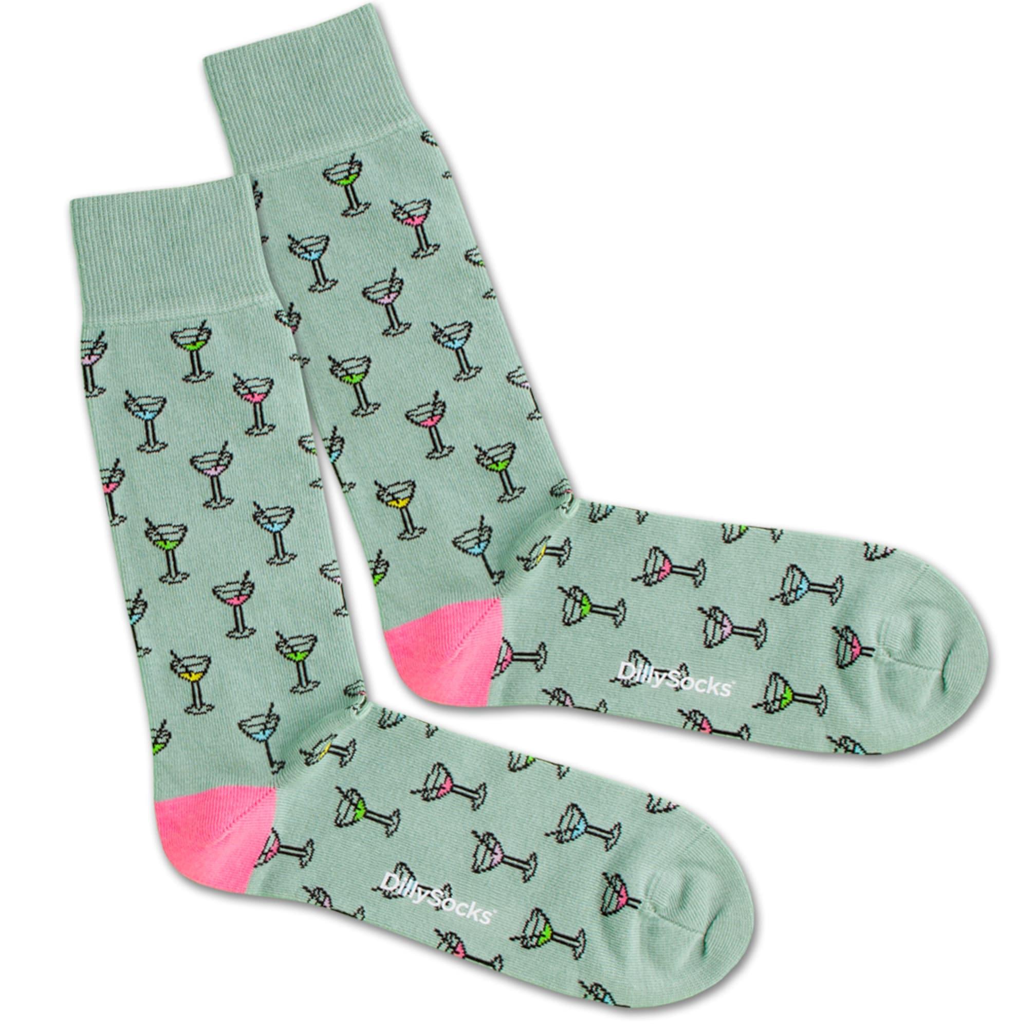 Ponožky After Work tyrkysová mix barev DillySocks