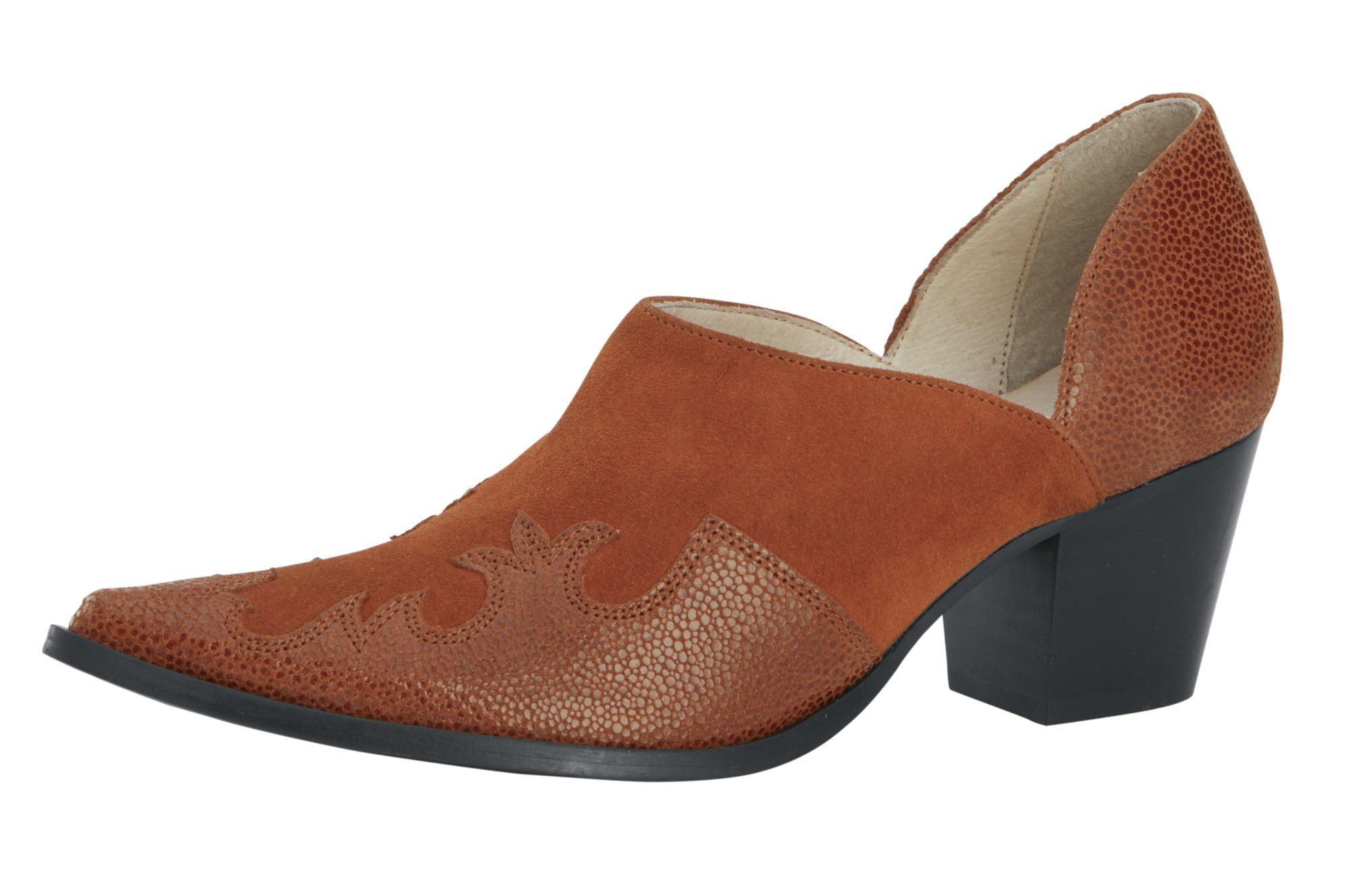Hochfrontpumps | Schuhe > Pumps > Hochfrontpumps | Cognac | heine