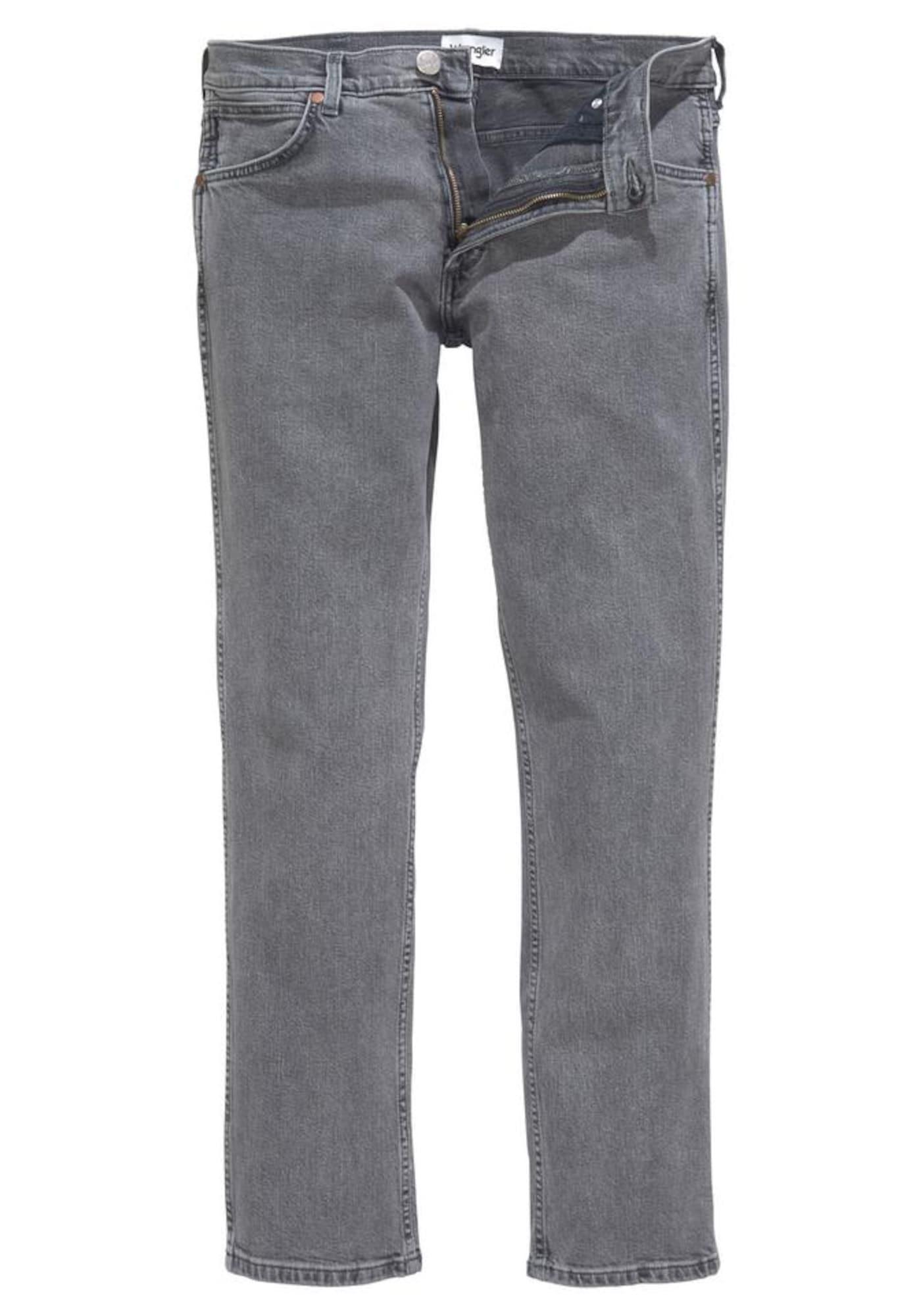 WRANGLER Heren Jeans Larston grijs