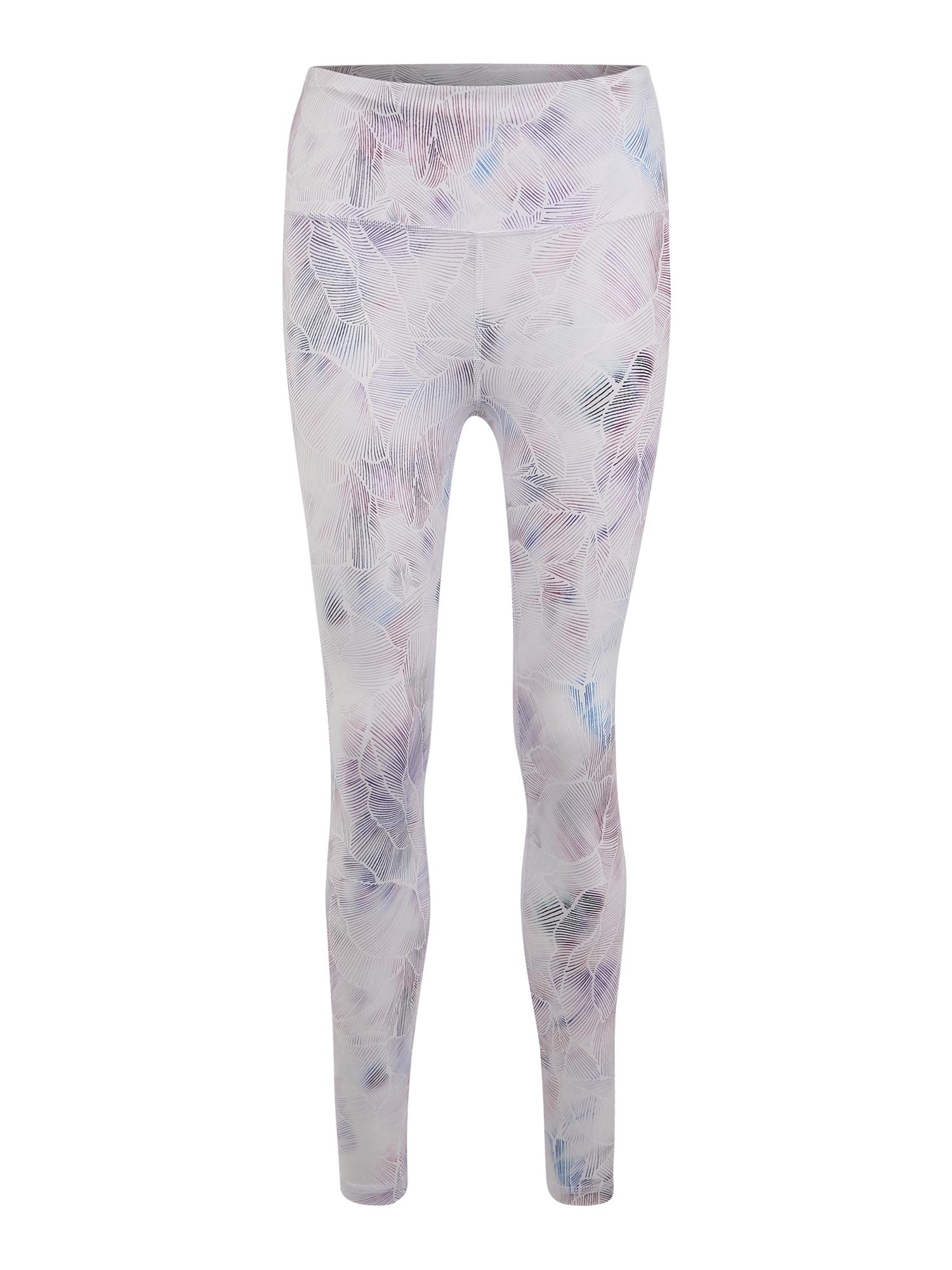 Sportovní kalhoty růžová bílá GAP