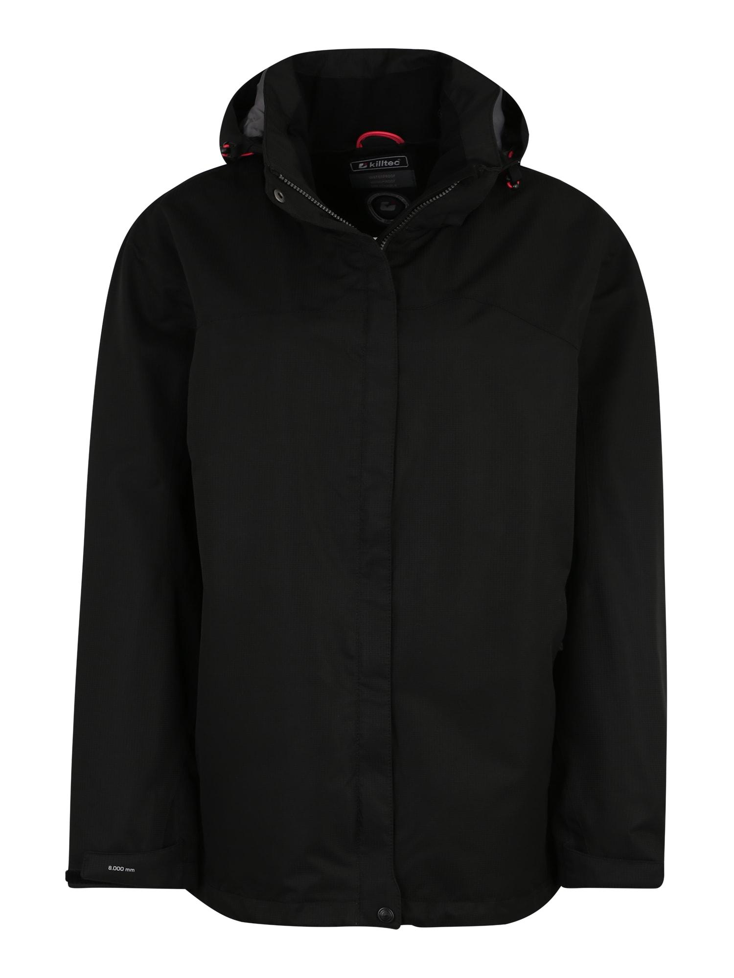 Outdoorová bunda Inkele černá KILLTEC