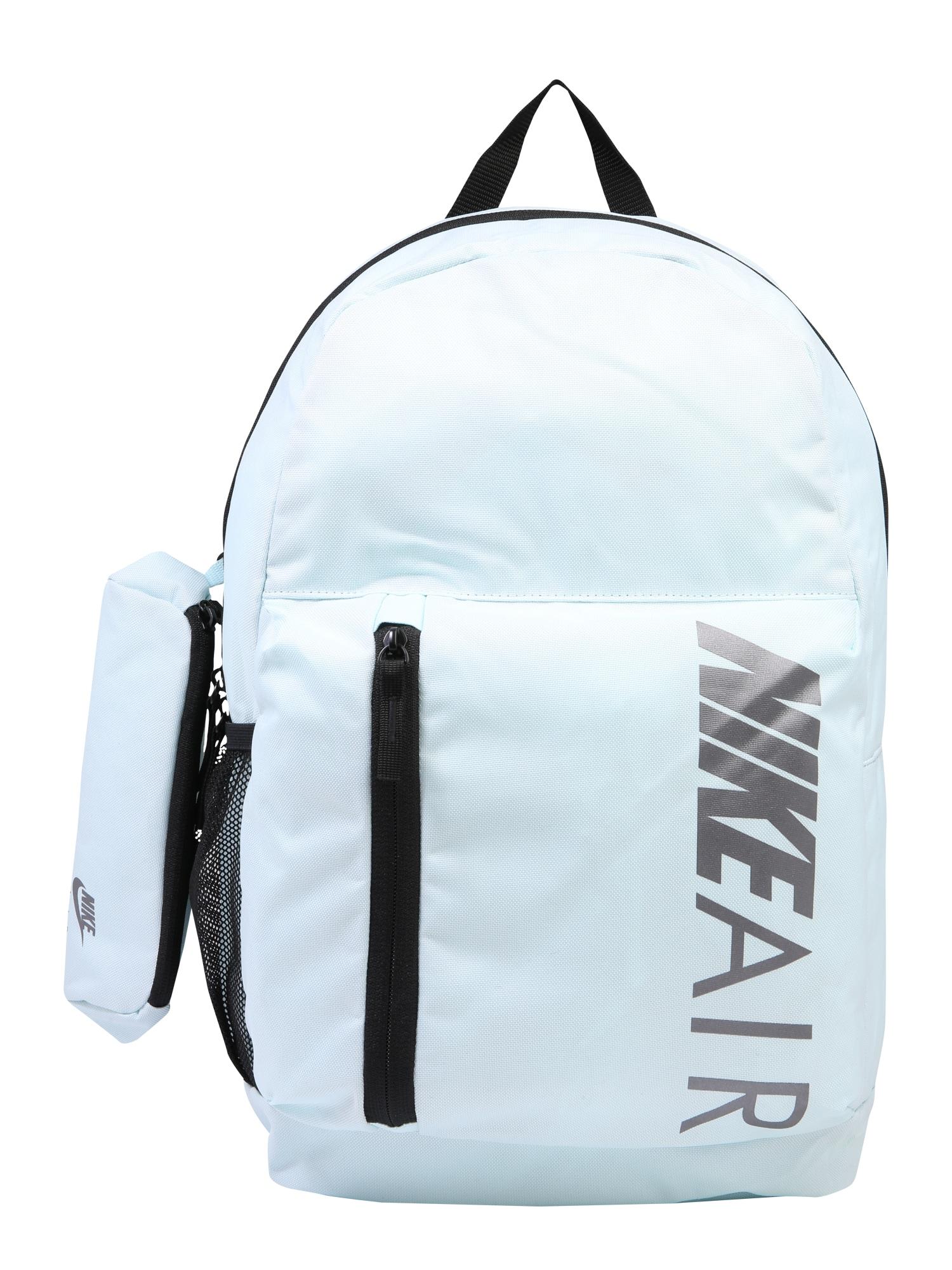 Nike Sportswear Batoh 'Y NK ELMNTL BKPK - GFX NK AIR'  světlemodrá