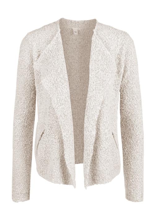 Kurze Jacke aus Bouclé-Strick