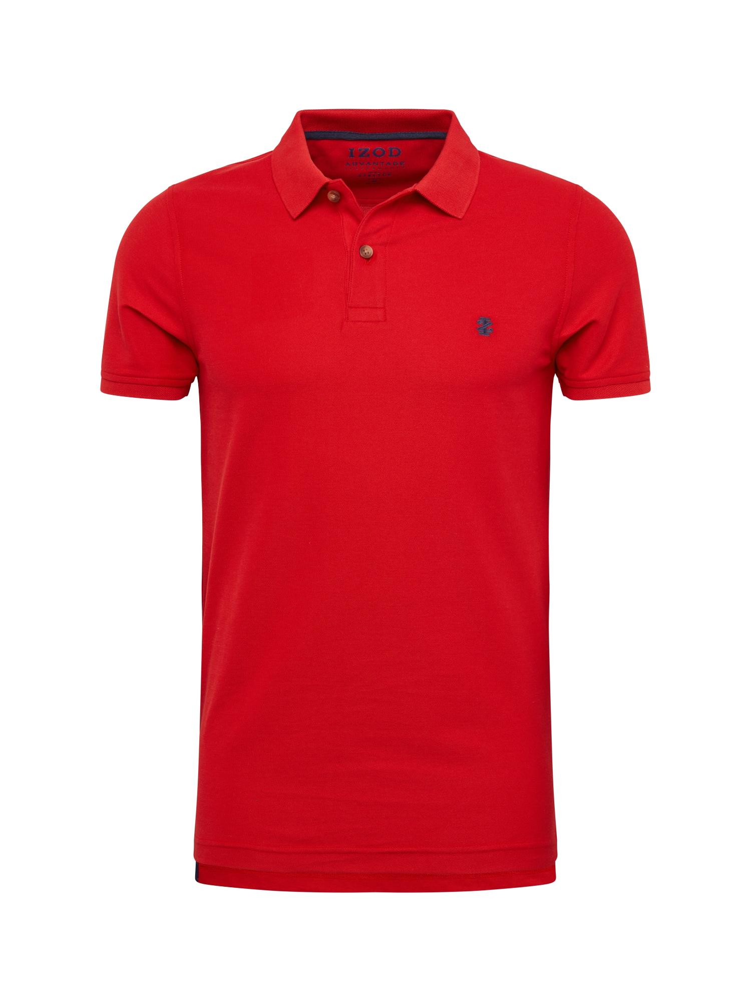 Tričko PERFORMANCE PIQUE červená IZOD