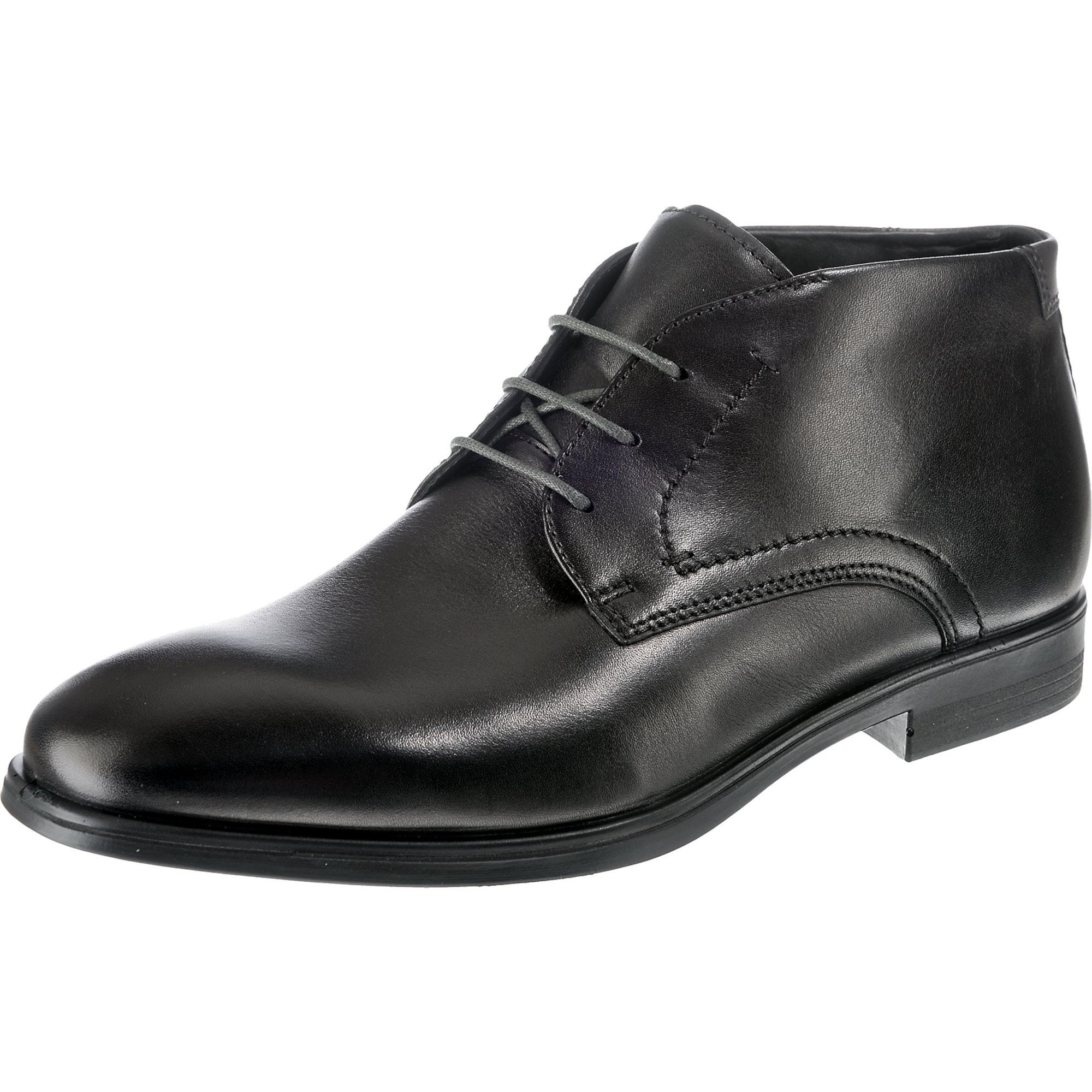 Šněrovací boty Melburne černá ECCO